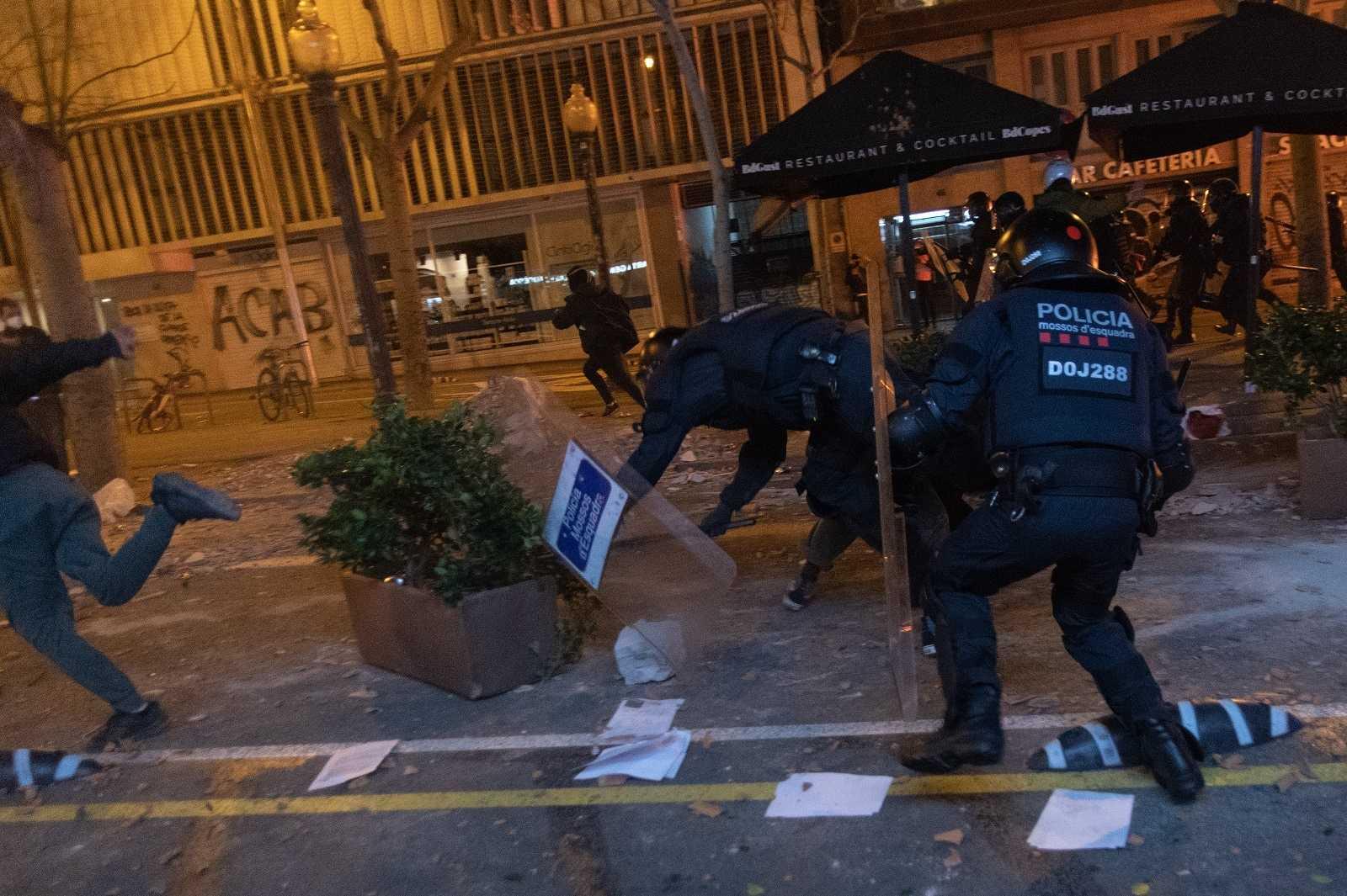 Resultado de imagen para protestas en barcelona