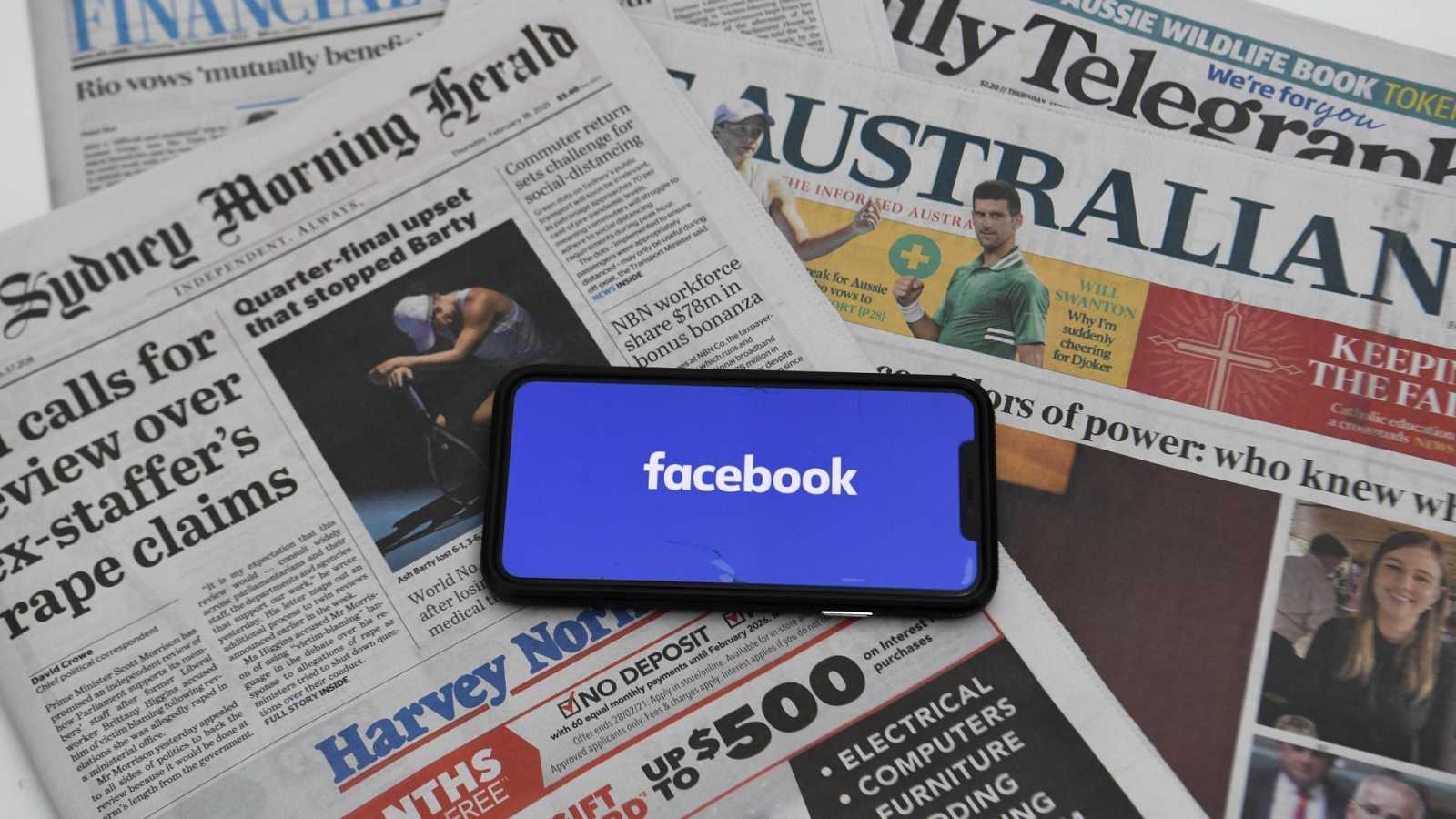 Facebook prohíbe compartir noticias de medios en Australia