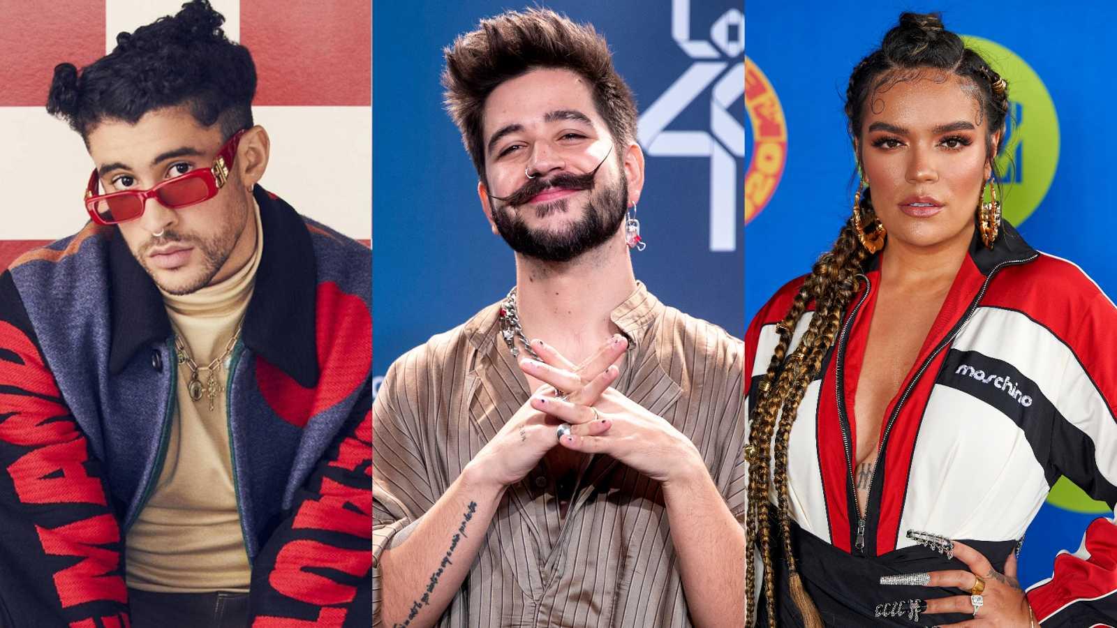 Bad Bunny, Rosalía, Camilo y Karol G triunfadores de los premios Lo Nuestro