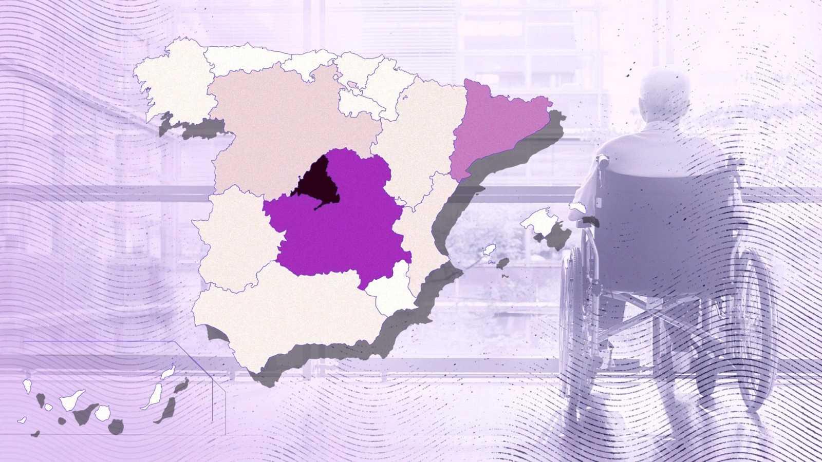 Cataluña y Madrid acumulan más de 10.000 fallecidos con coronavirus en residencias.