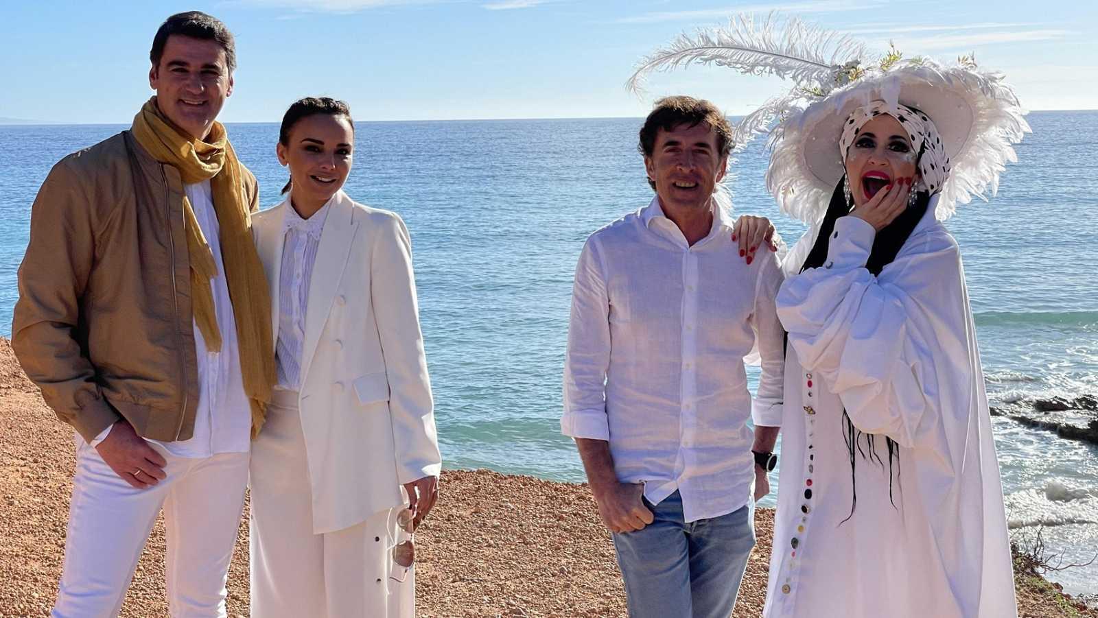 Jesulín, Chenoa, La Terre y Pedro Delgado