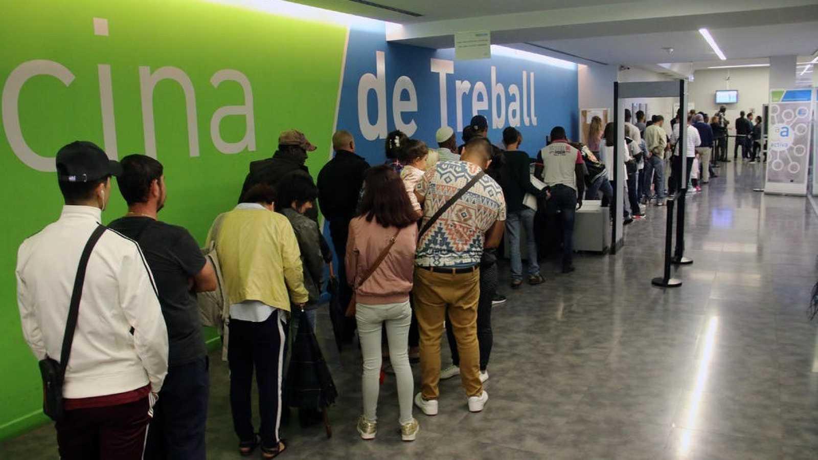 Les oficines del SOC van registrar al febrer 4.200 nous demandants de feina
