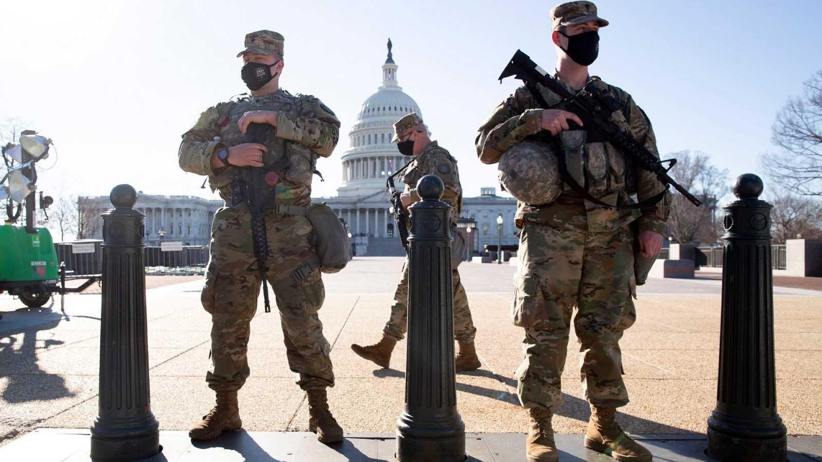 La Cámara Baja de EE.UU. suspende la sesión de este jueves ante un nueva alerta de asalto al Capitolio