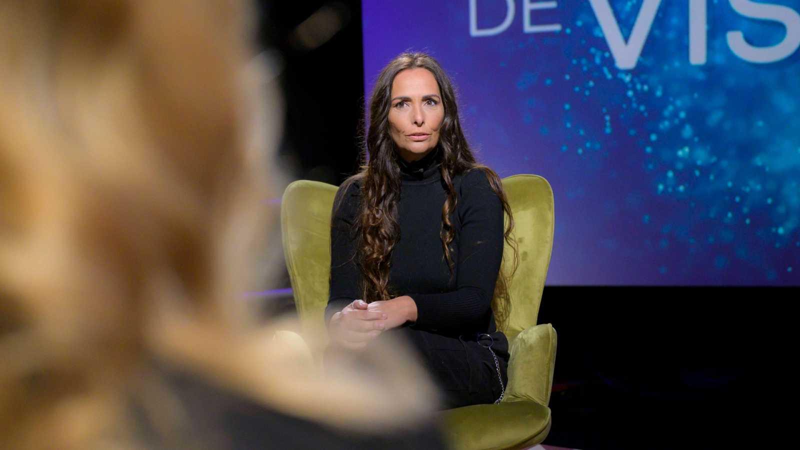 Mónica Pérez al plató de 'Punts de vista'