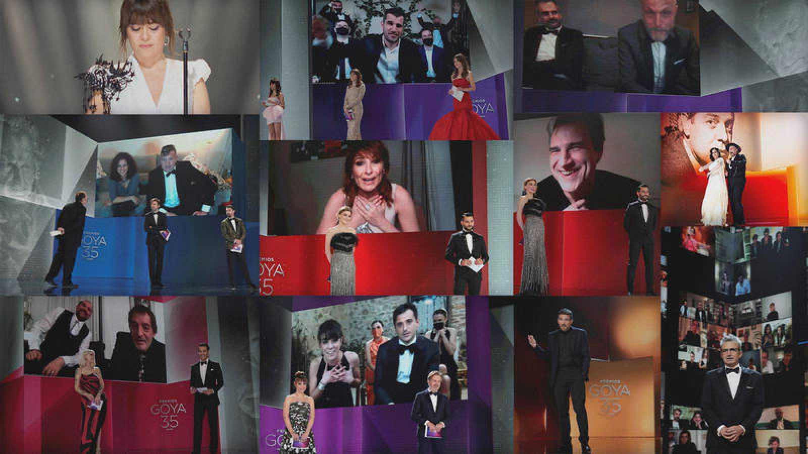 Gala de los Goya 2021.