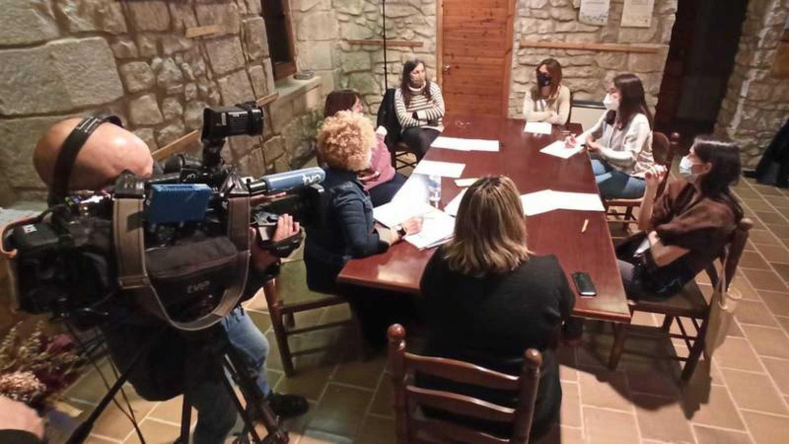 'Crónicas' con el gobierno municipal de Belianes, formado todo por mujeres
