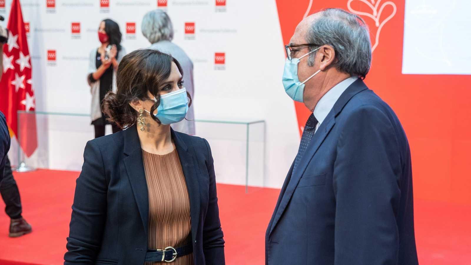 Isabel Díaz Ayuso y Ángel Gabilondo volverán a competir por la Presidencia de la Comunidad de Madrid.