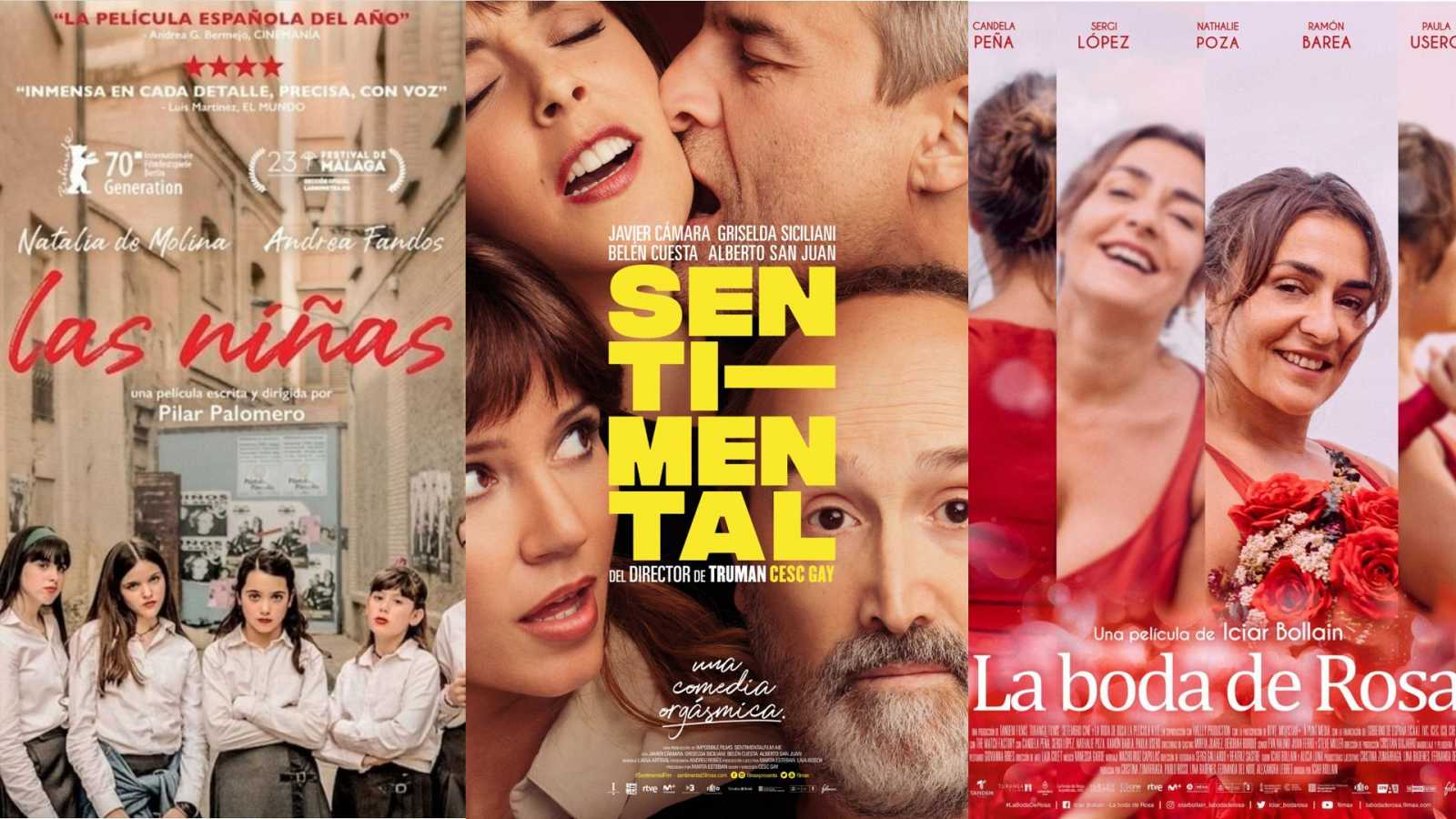 Películas nominadas a los Gaudí