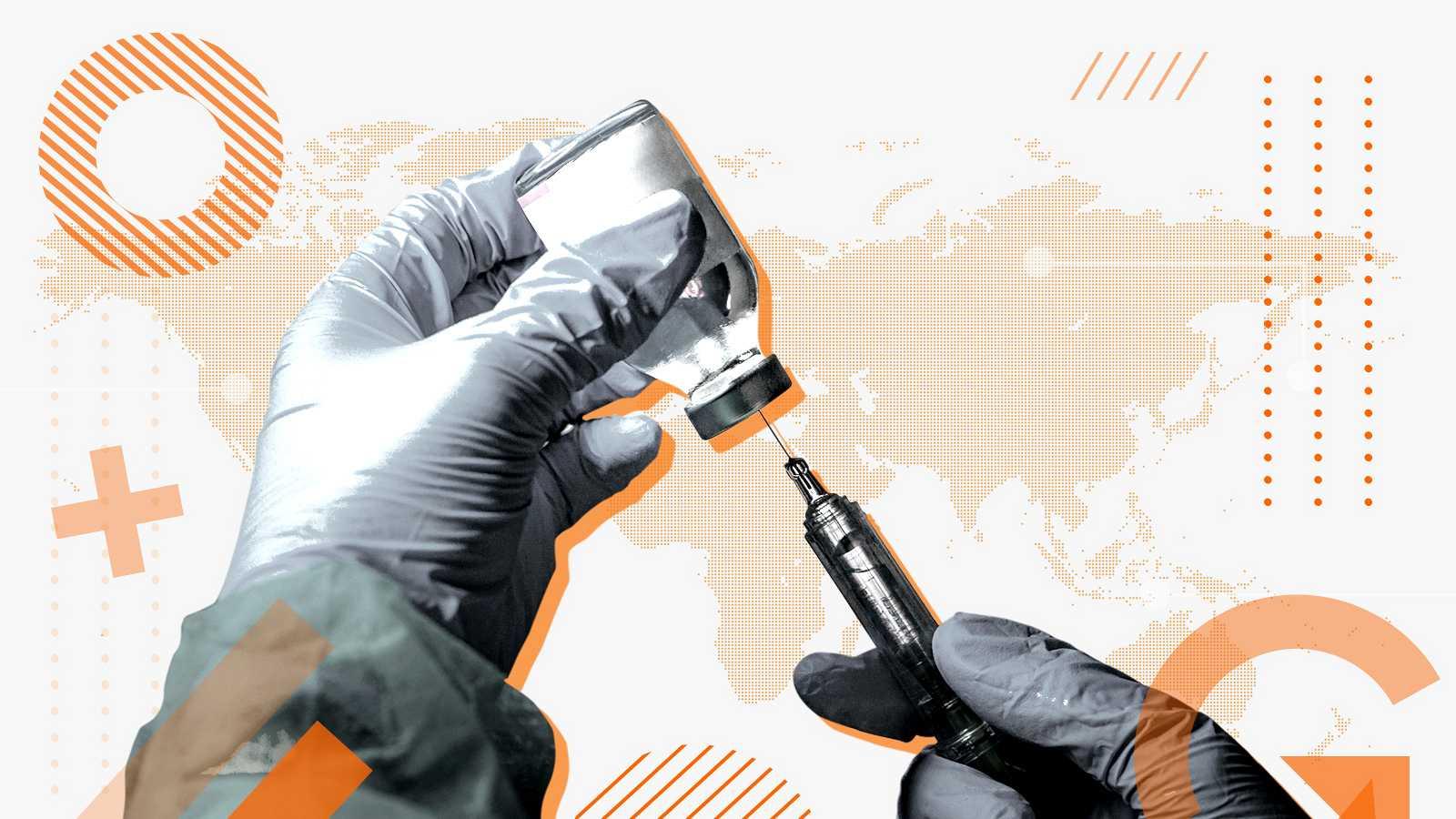 La vacunación de la COVID-19 se está extendiendo principalmente en los países desarrollados.