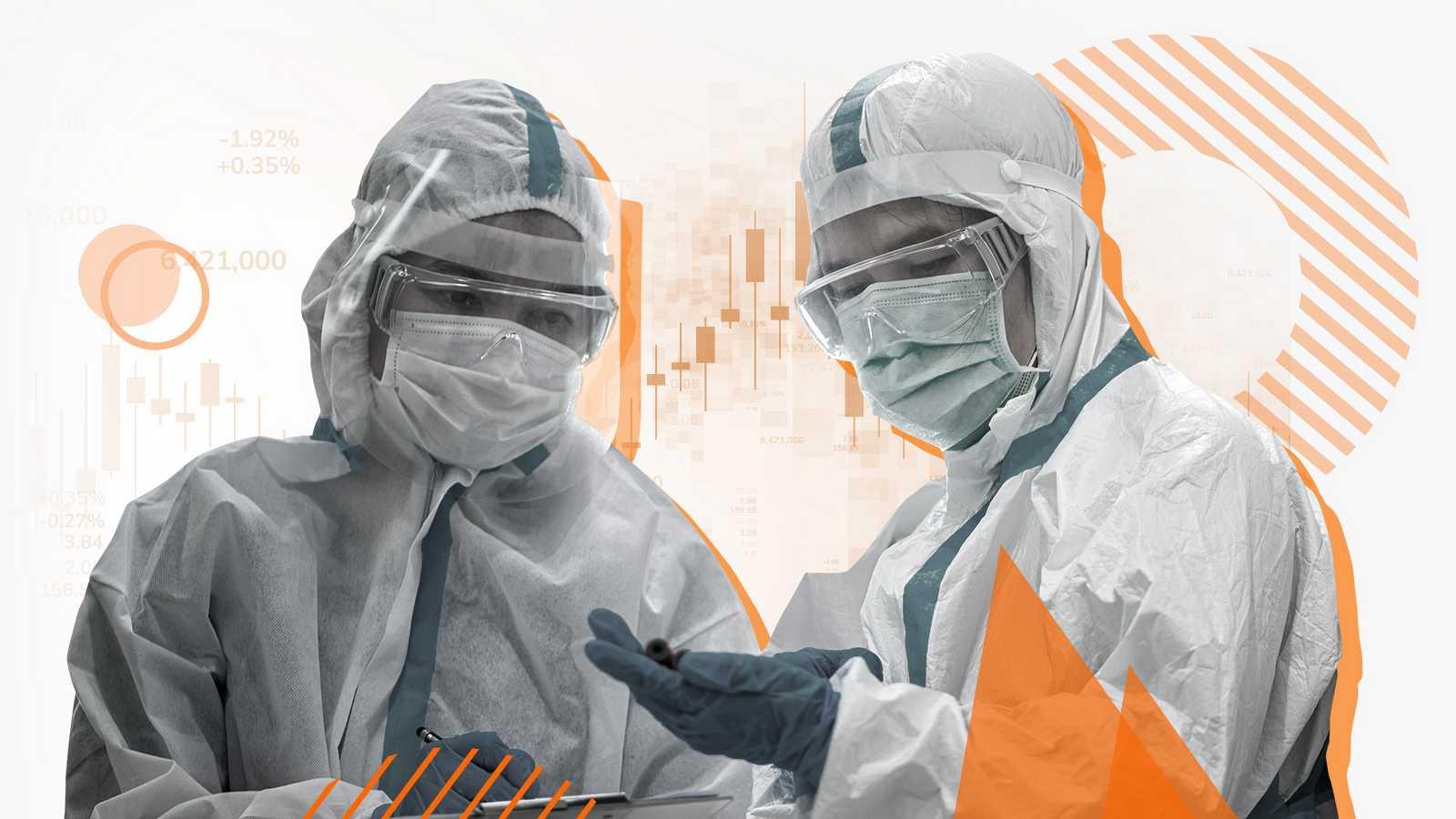Datos del coronavirus en hospitales y UCI de España