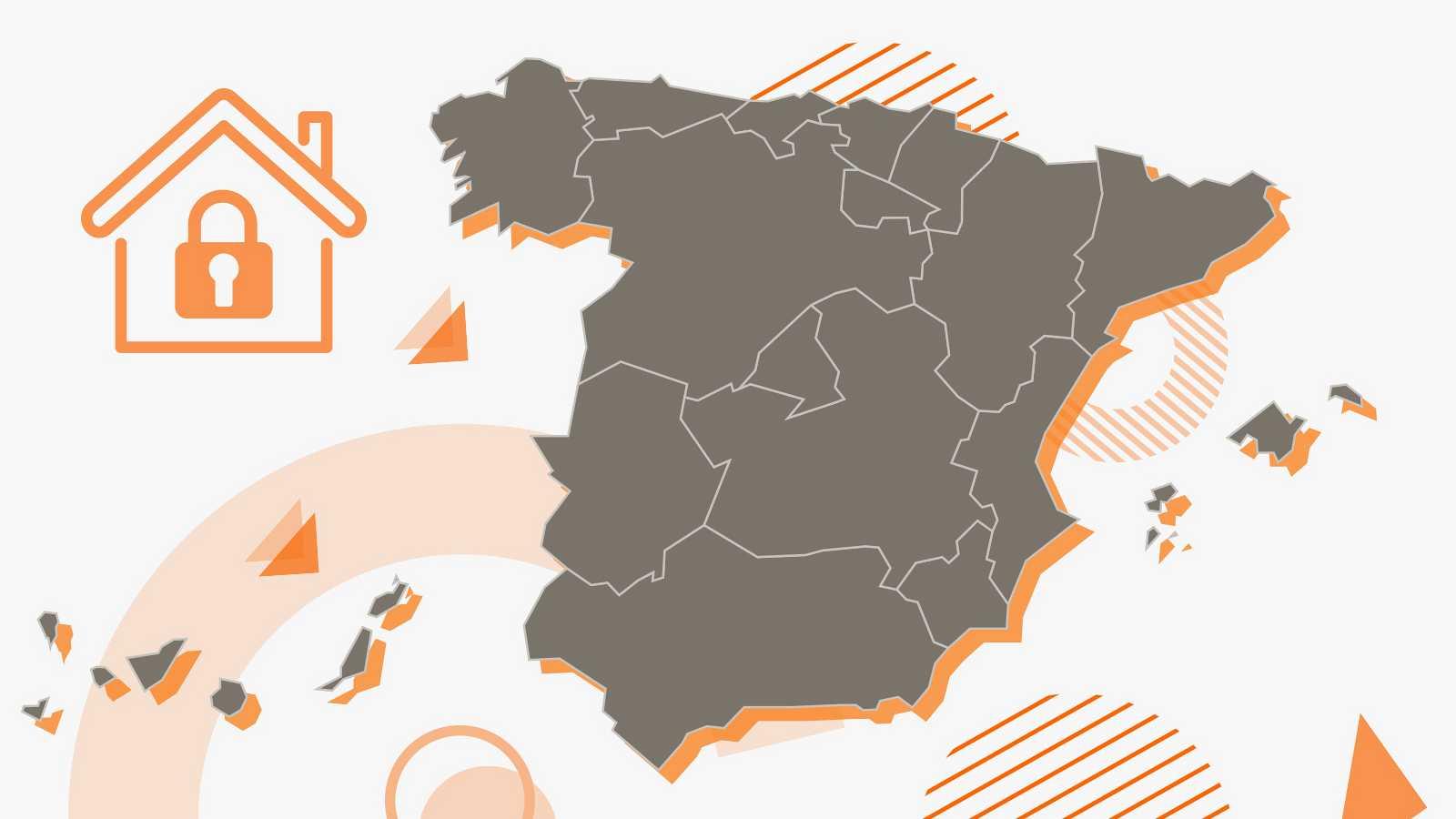Municipal, comarcal, provincial o autonómico: así son el confinamiento y los límites de reunión en cada territorio de España.