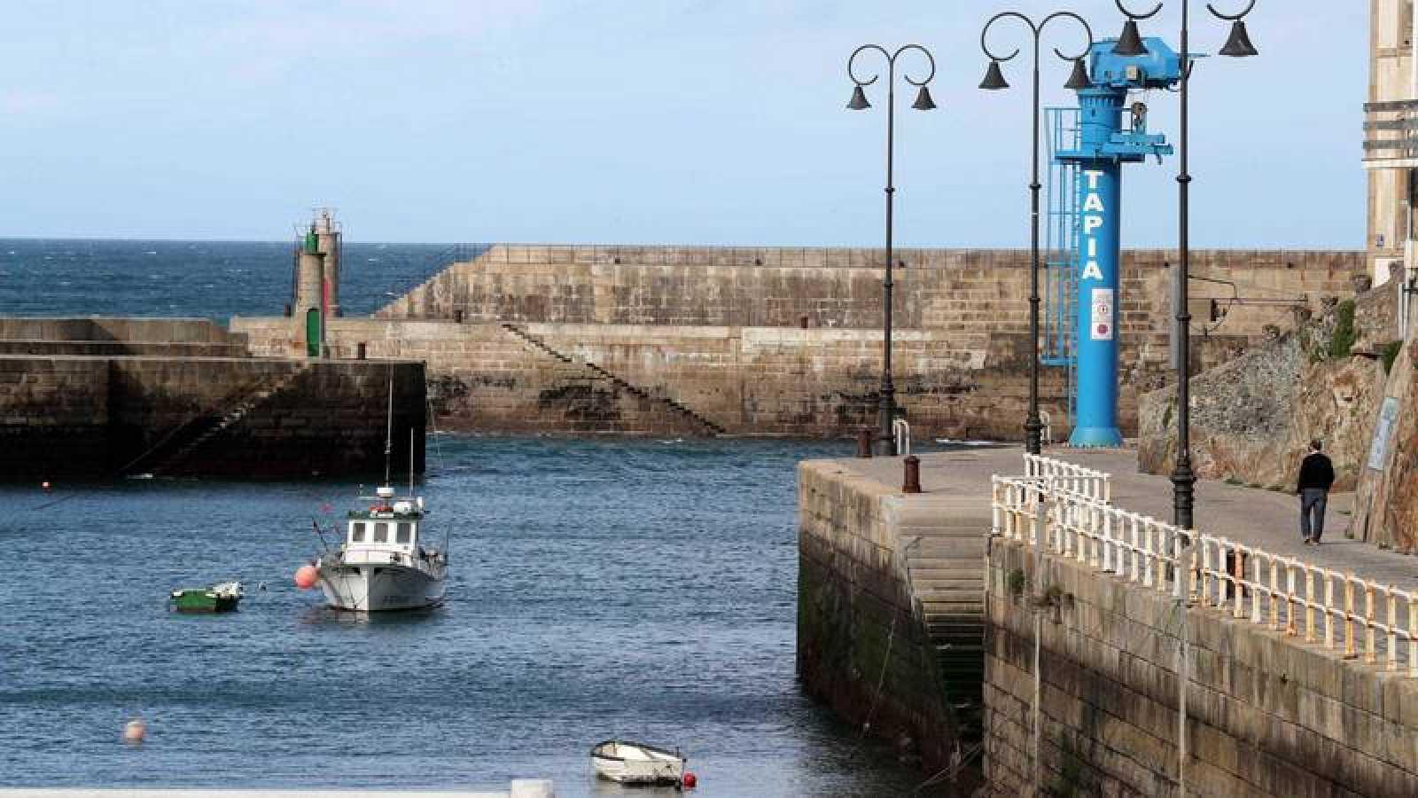 Un puerto pesquero en Asturias