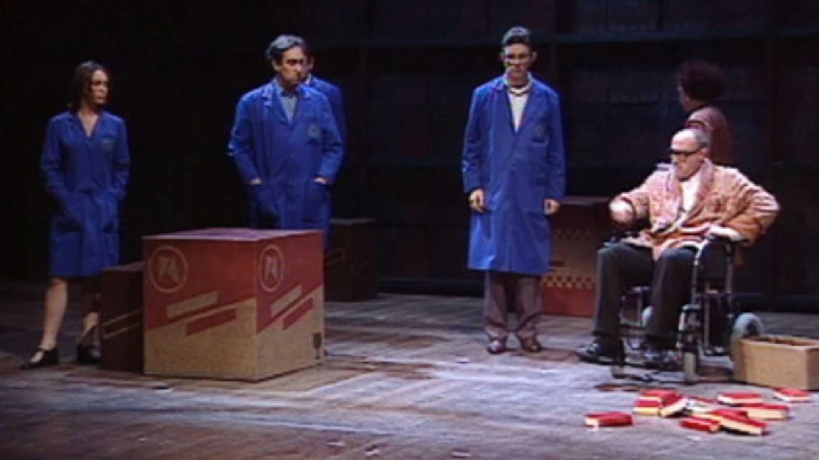 Des dels seus inicis, TVE Catalunya ofereix obres de teatre en català