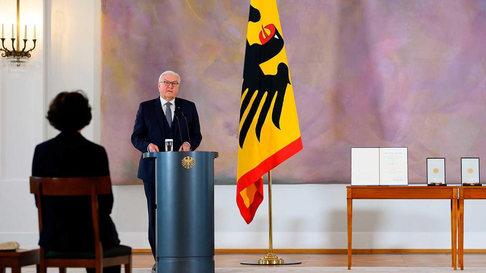 El presidente alemán Frank-Walter Steinmeier es el encargado de ratificar el Fondo de Recuperación