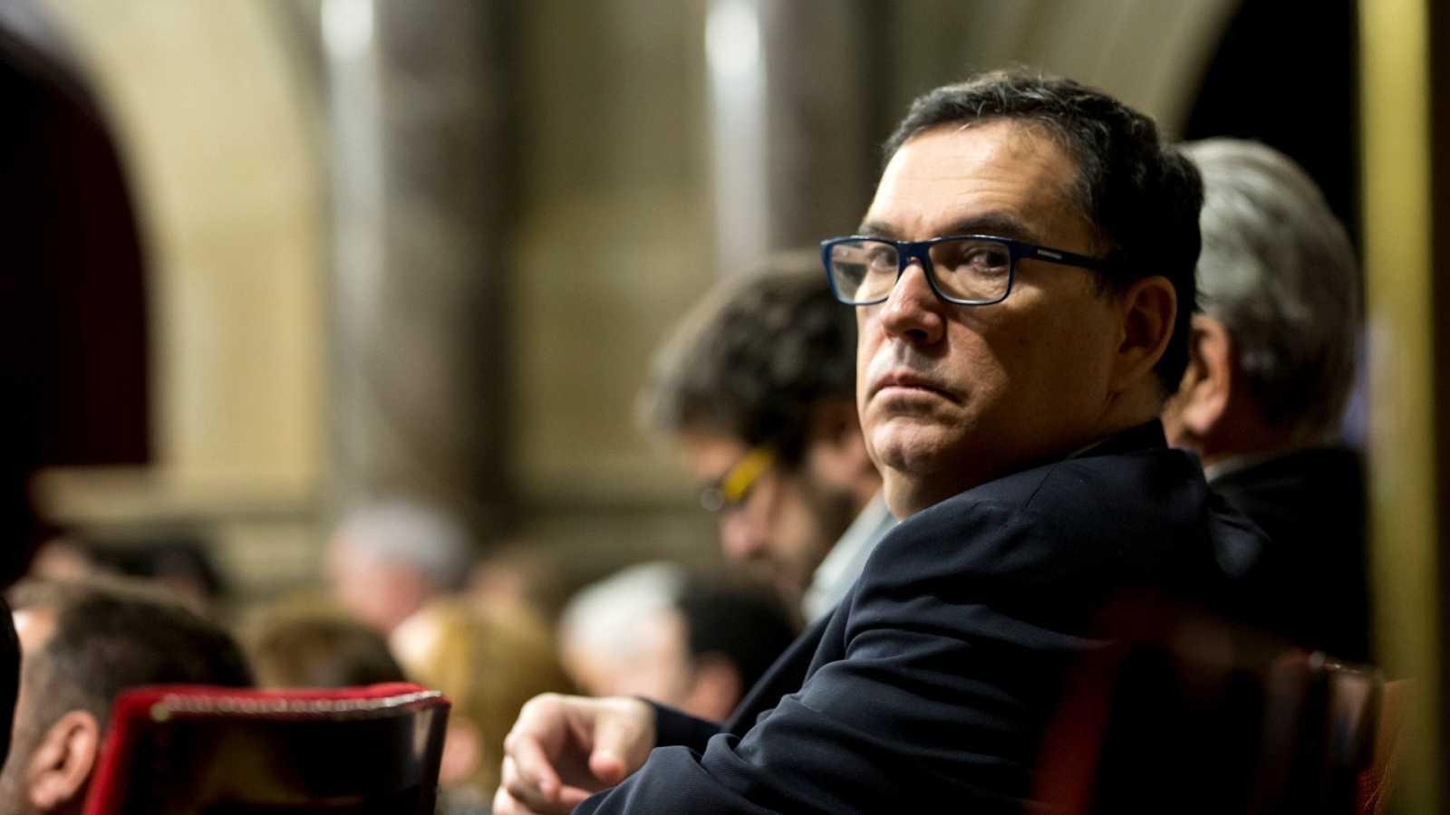 El abogado de Carles Puigdemont, Jaume Alonso Cuevillas, en una imagen de archivo