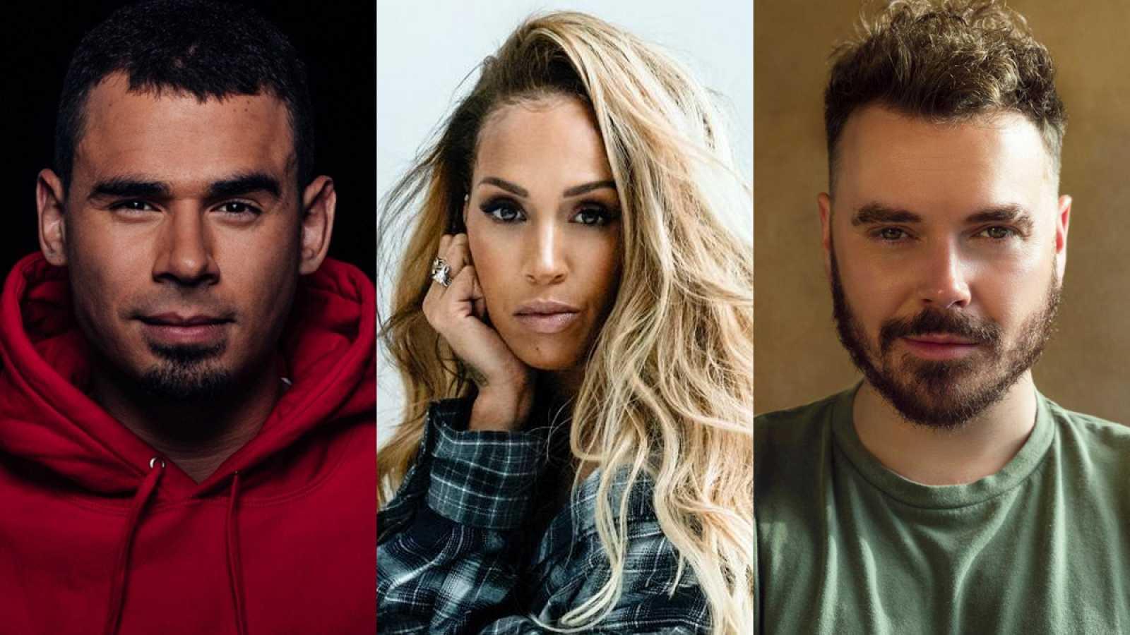 Afrojack, Glennis Grace y Wulf actuarán en la final de Eurovisión 2021