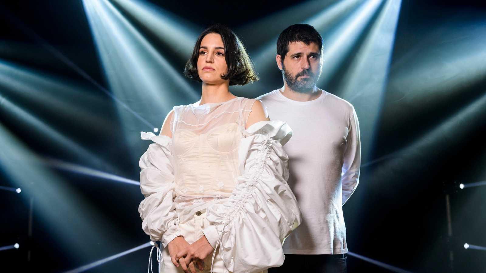 Maria Arnal i Marcel Bagès a la sala La Mirona