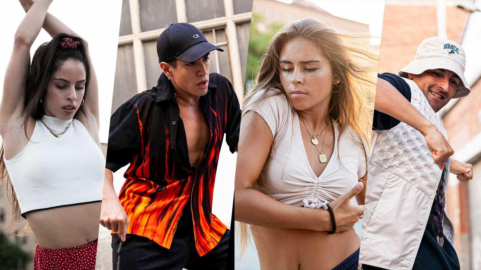 Natalia Palomares, Exon Arcos, Daniela Blasco y Sebastian Linares son los protagonistas del primer programa de Danz, Jazz Funk