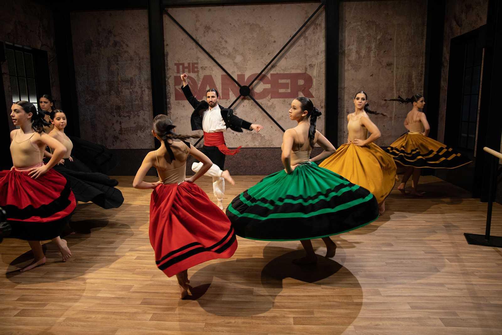 Folklore gallego en The Dancer