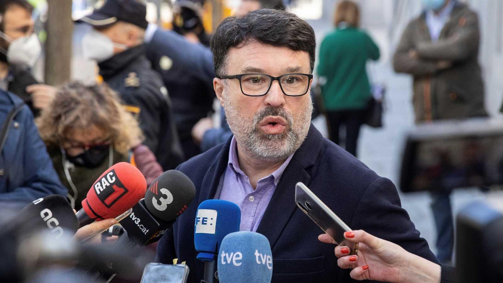 El diputado de ERC Joan Josep Nuet