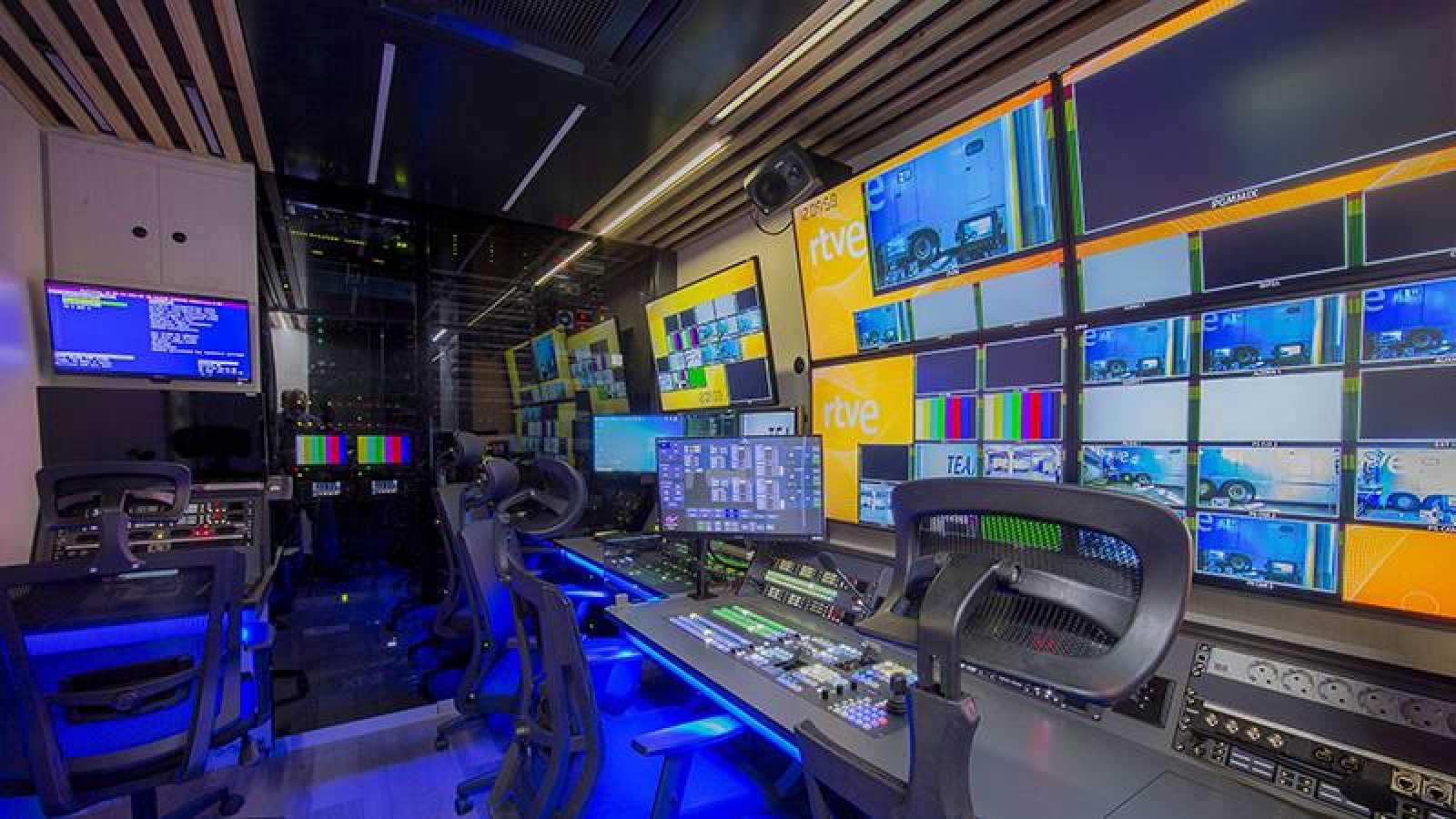 Control de realización de RTVE