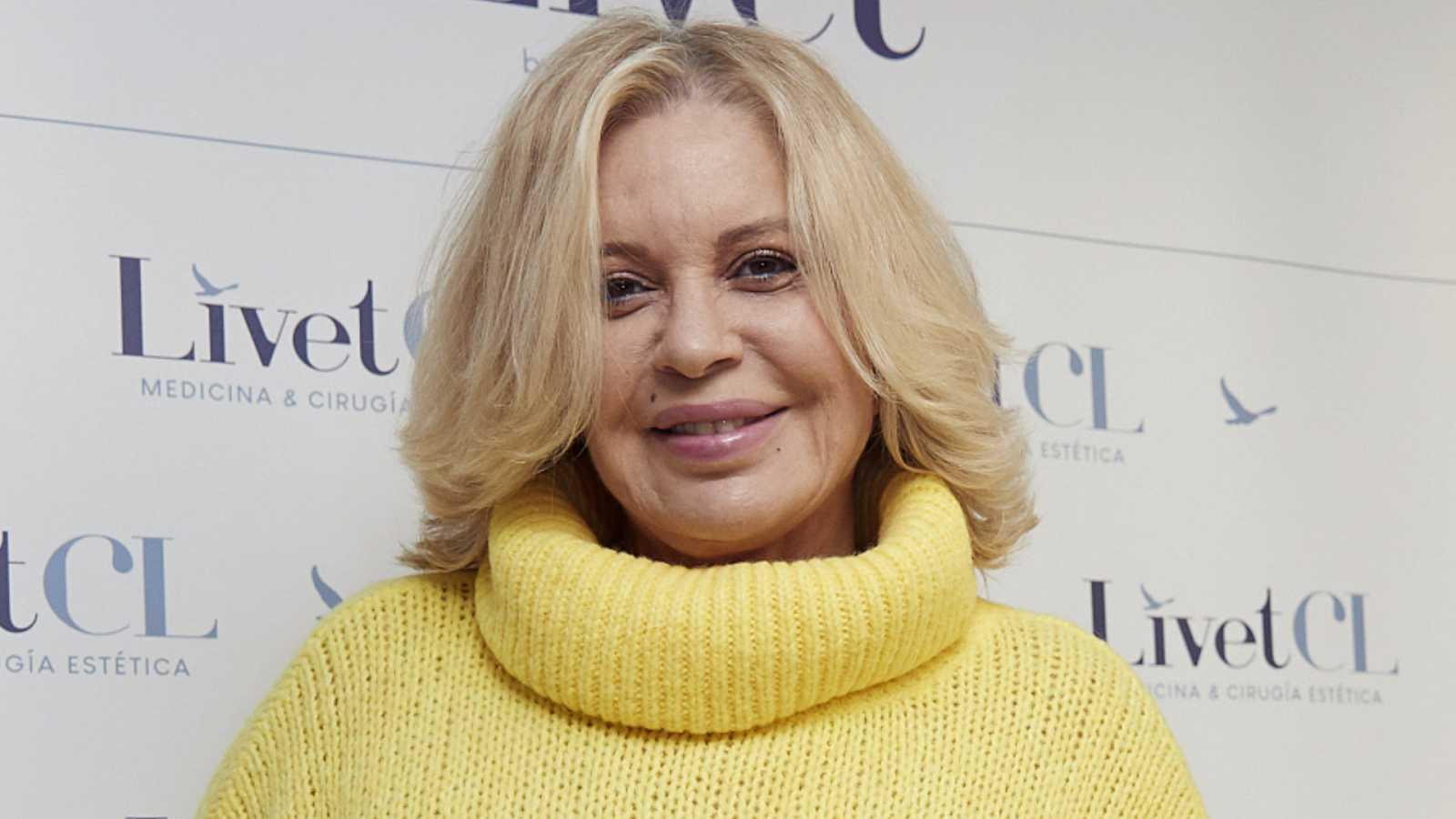 La actriz Bárbara Rey