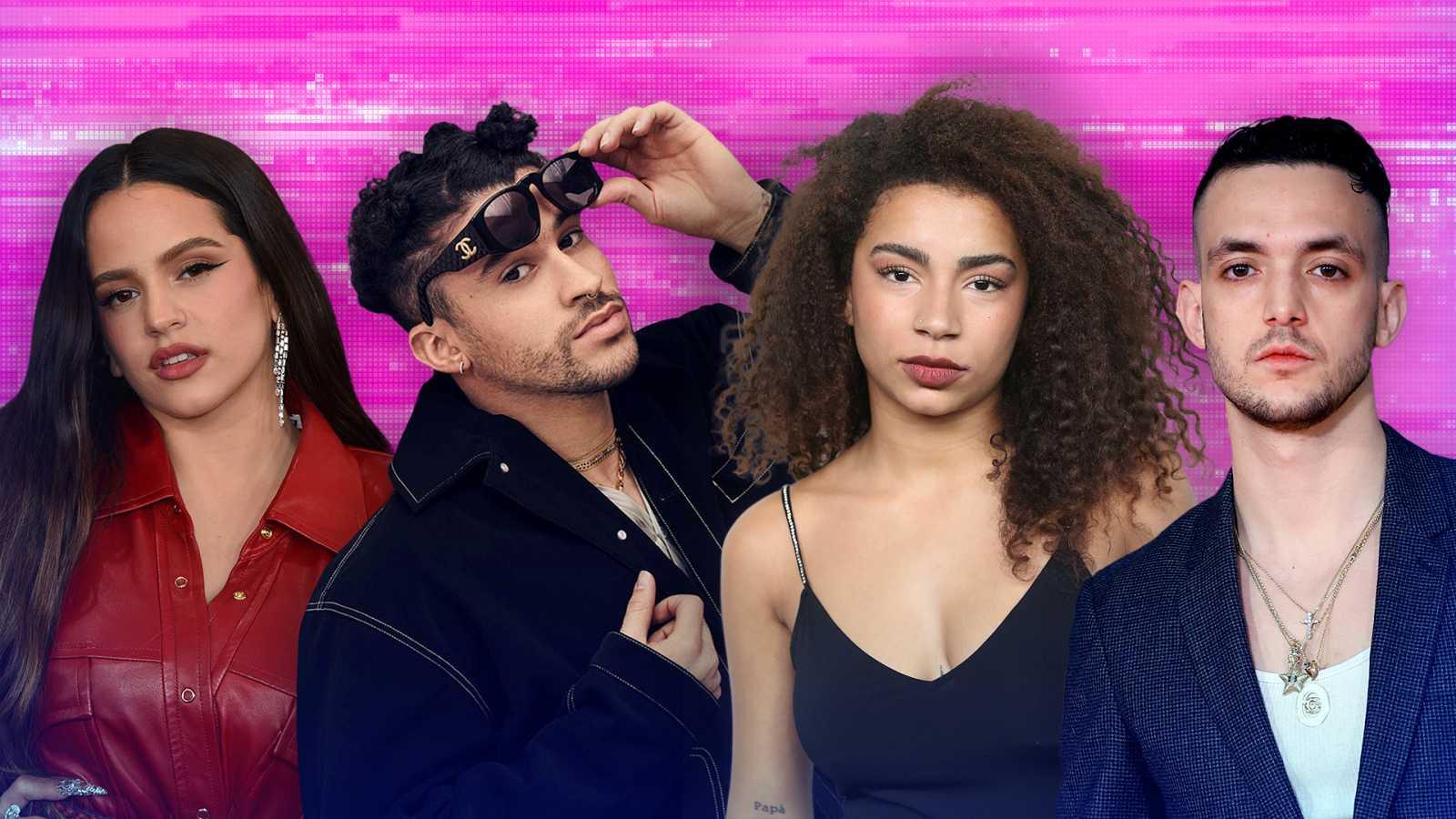 Rosalía, Deva, C. Tangana y Bad Bunny: entre las predicciones de Spotify 2021