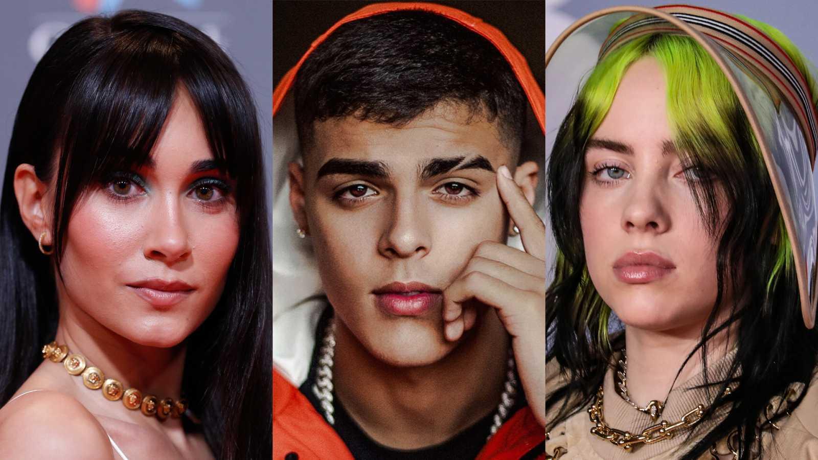 Aitana, Lunay, Billie Eilish y Anitta, entre las novedades de la semana