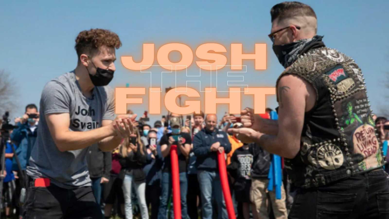 """La Josh Fight tuvo lugar en Lincoln y se saldó con un """"piedra, papel, tijera"""""""