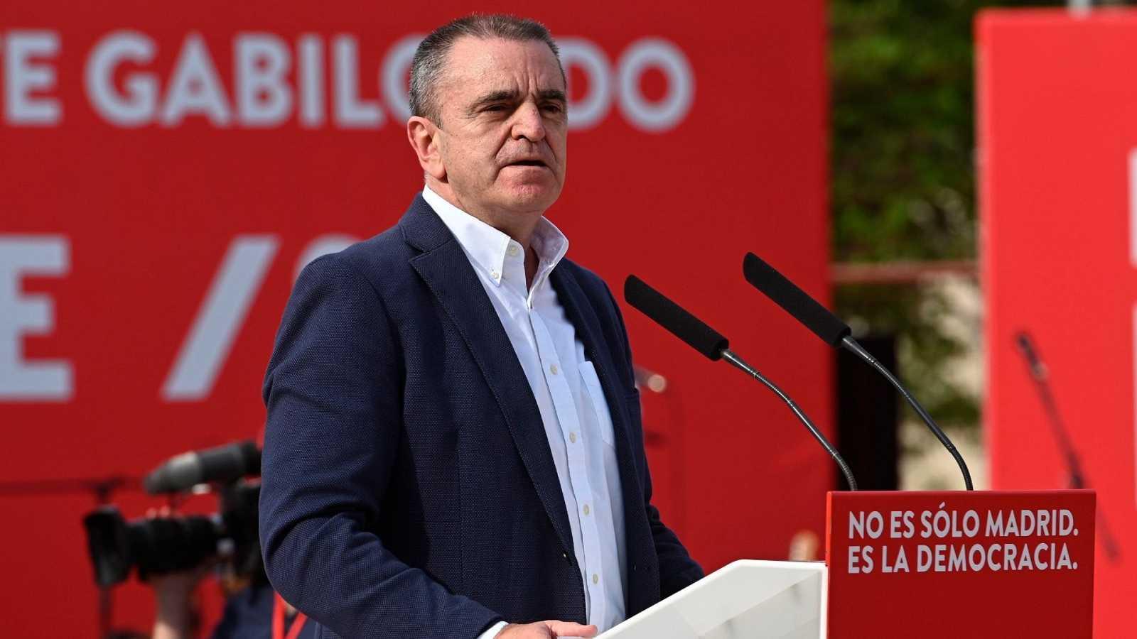 El ya exsecretario general del PSOE-M, José Manuel Franco