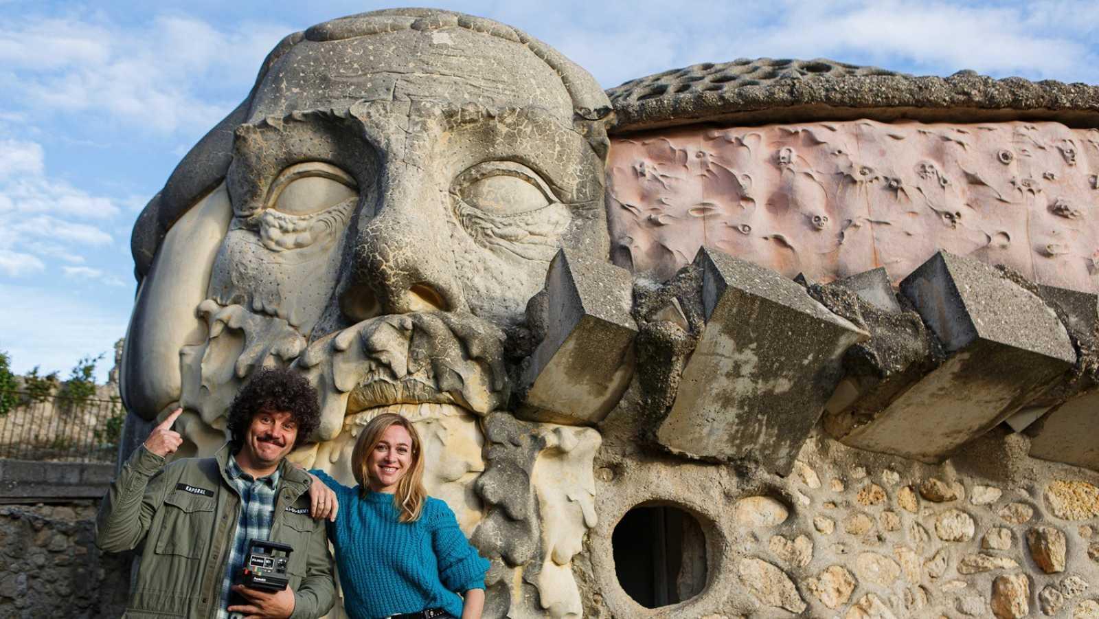 Marta y Touri en la Casa Salaguti