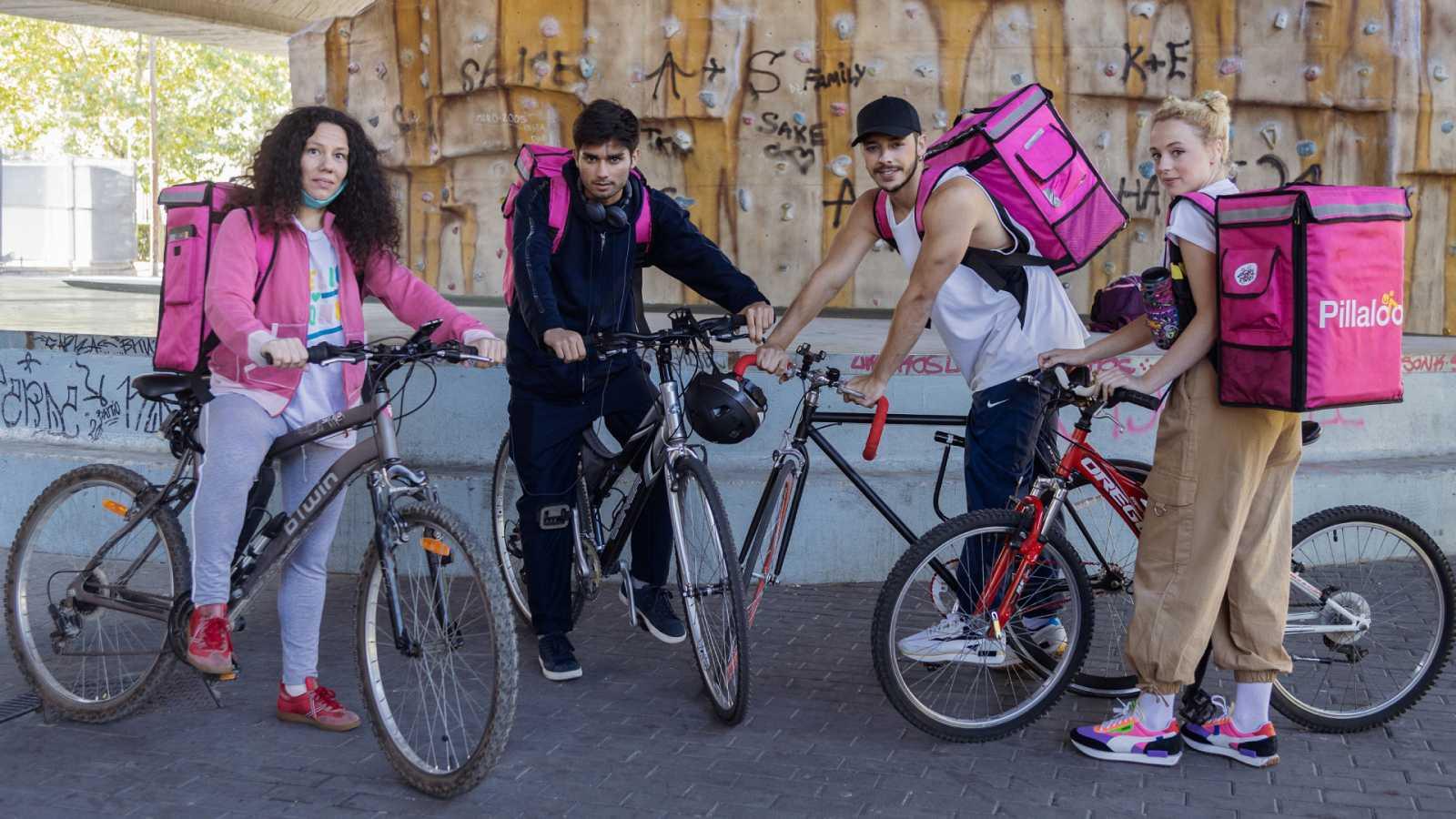 Dónde y cuándo ver 'Riders', la nueva serie de Playz