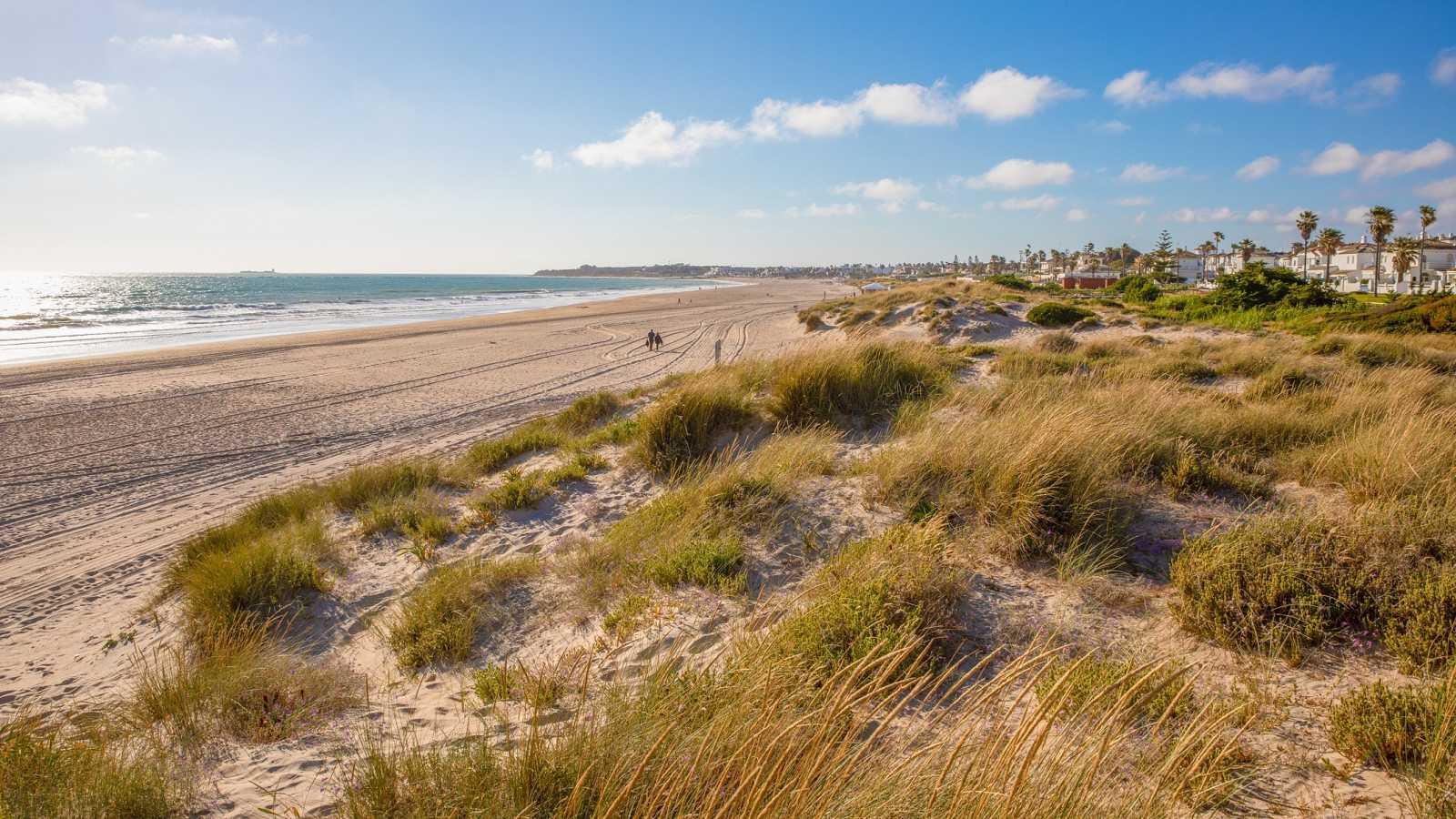 Playa de la Barrosa, en Chiclana de la Frontera