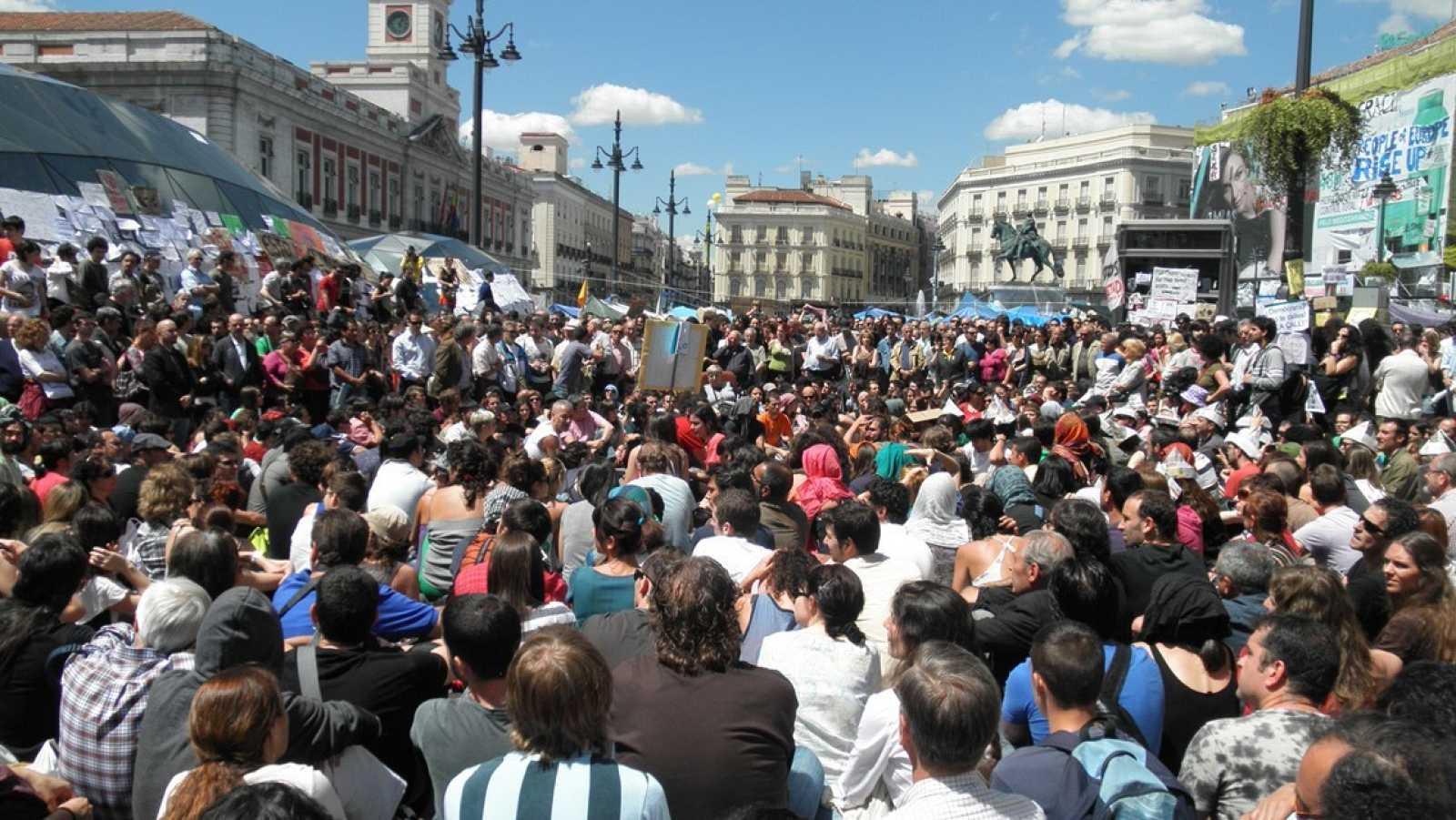 15-M Puerta del Sol