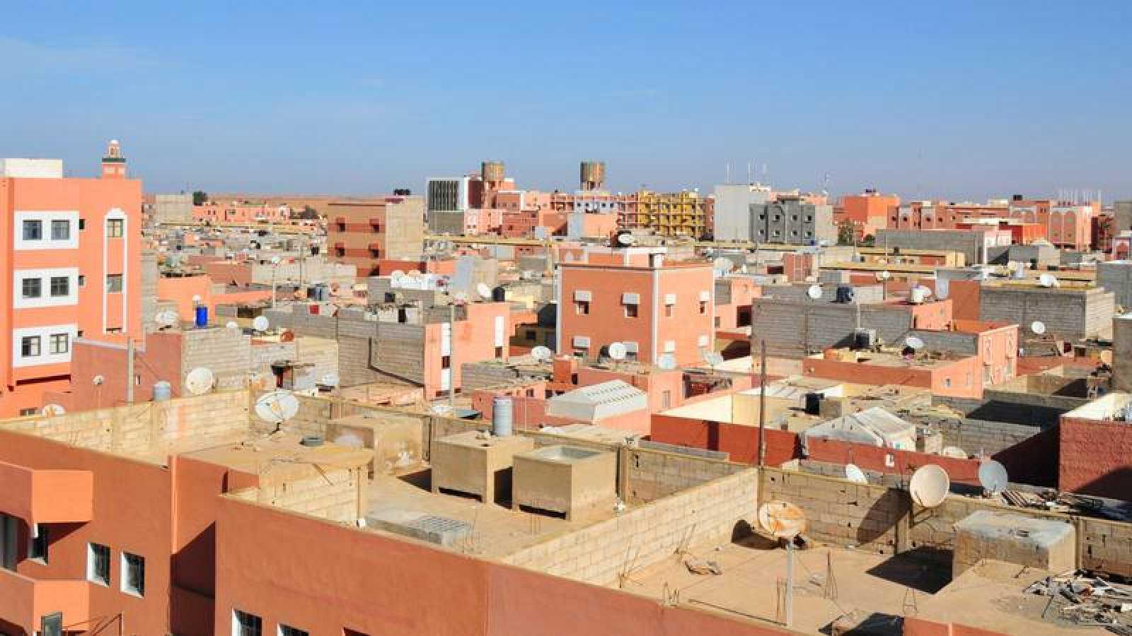 Panorámica del Aaiún, Sáhara Occidental