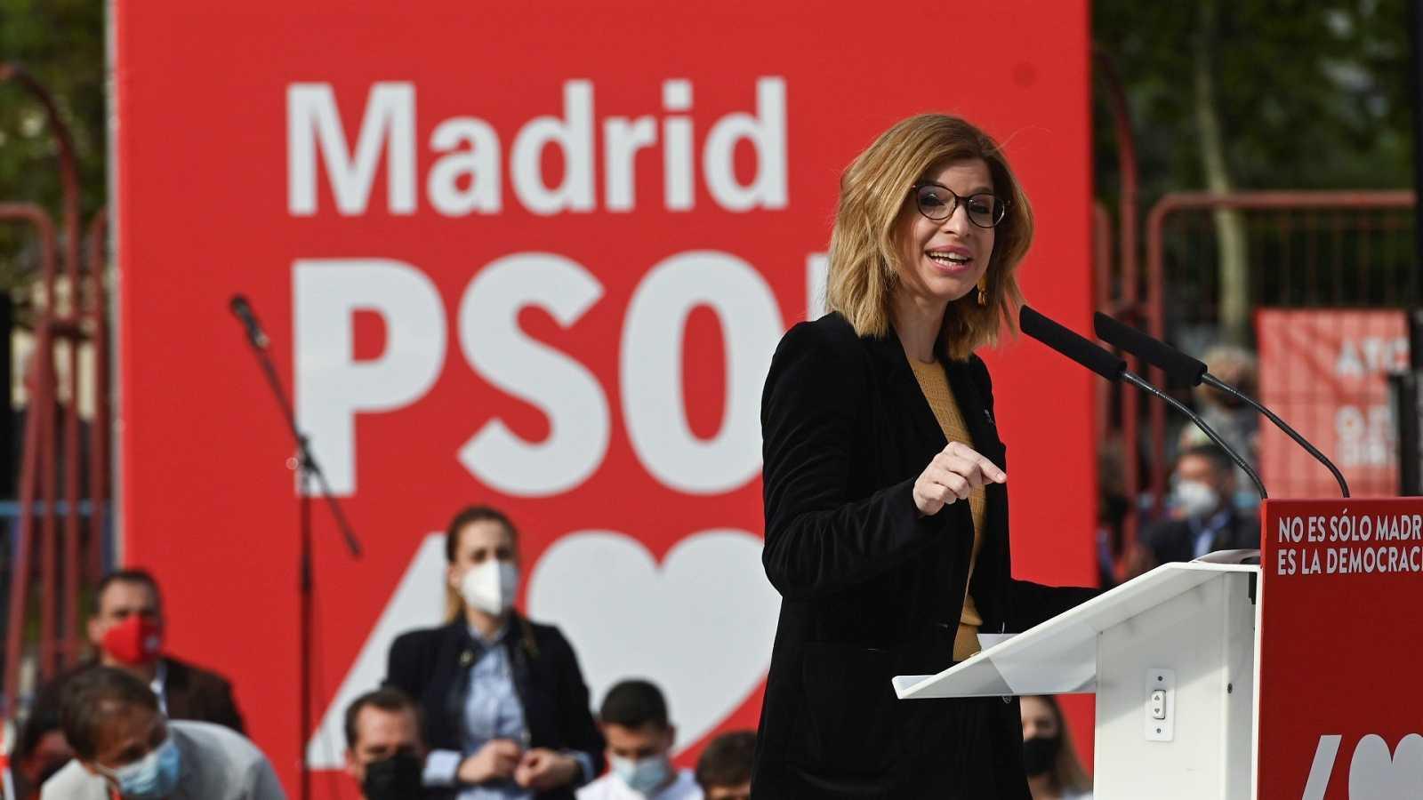 La número dos en la lista del PSOE, Hana Jalloul, nombrada portavoz en la Asamblea