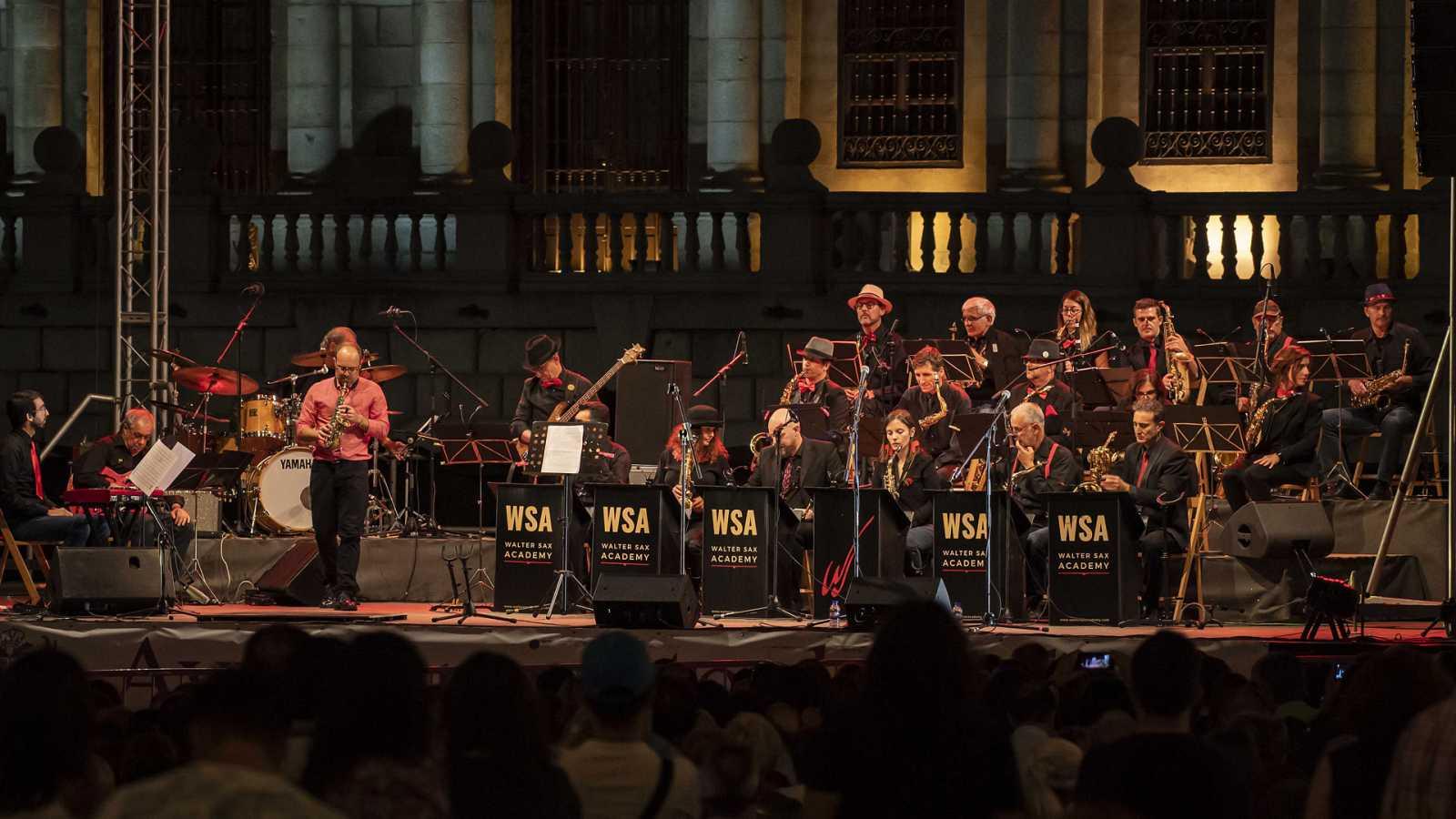 La banda WSA Small Ensemble