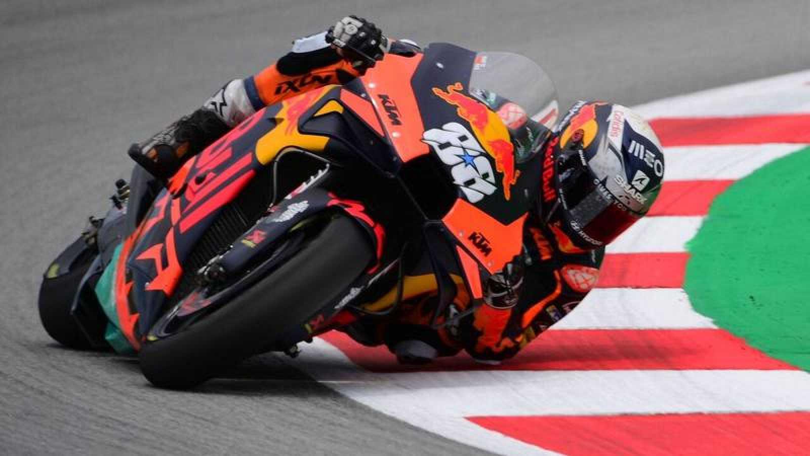 El piloto portugués de MotoGP Miguel Oliveira.