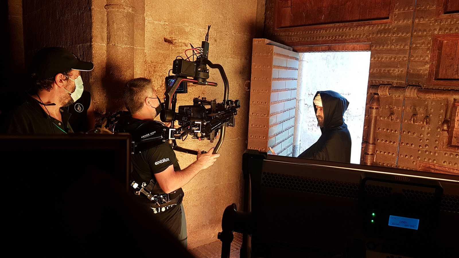 Primeras imágenes del rodaje del documental