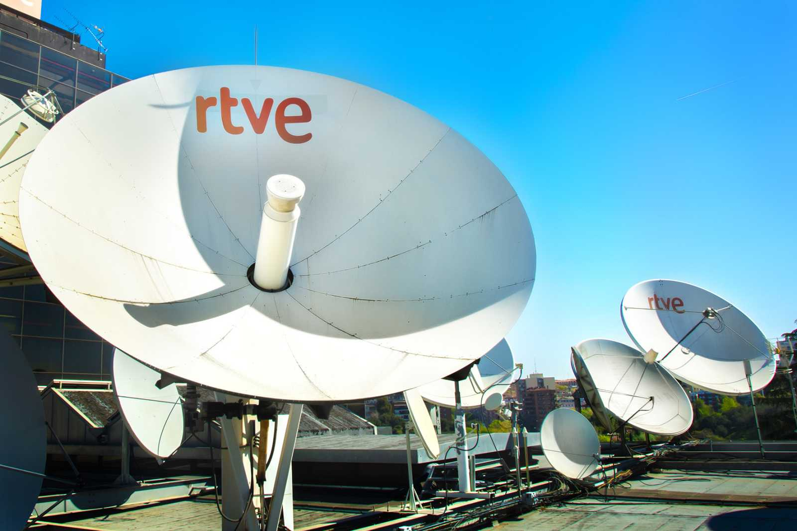 Imagen de las instalaciones de RTVE