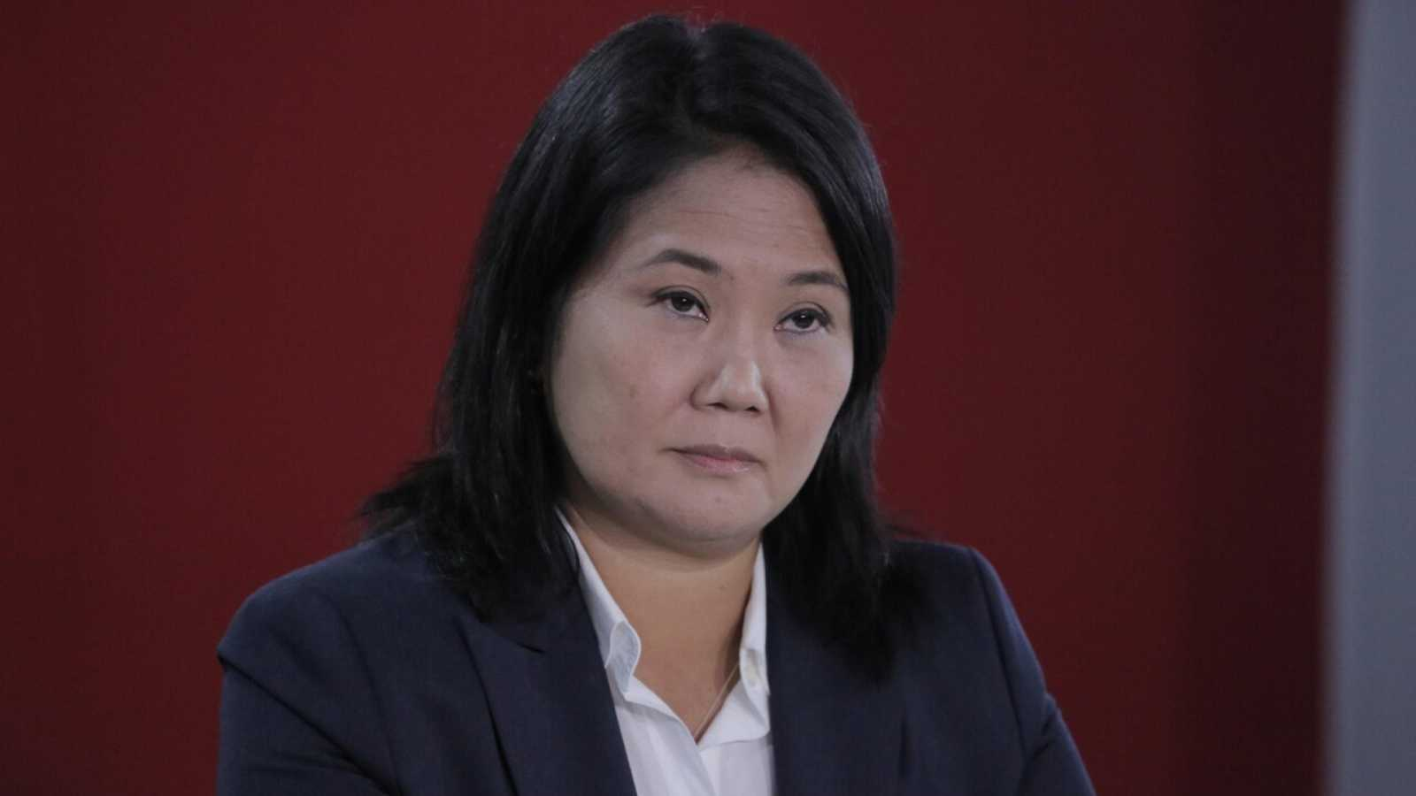 La candidata presidencial peruana Keiko Fujimori.  EFE/ John Reyes