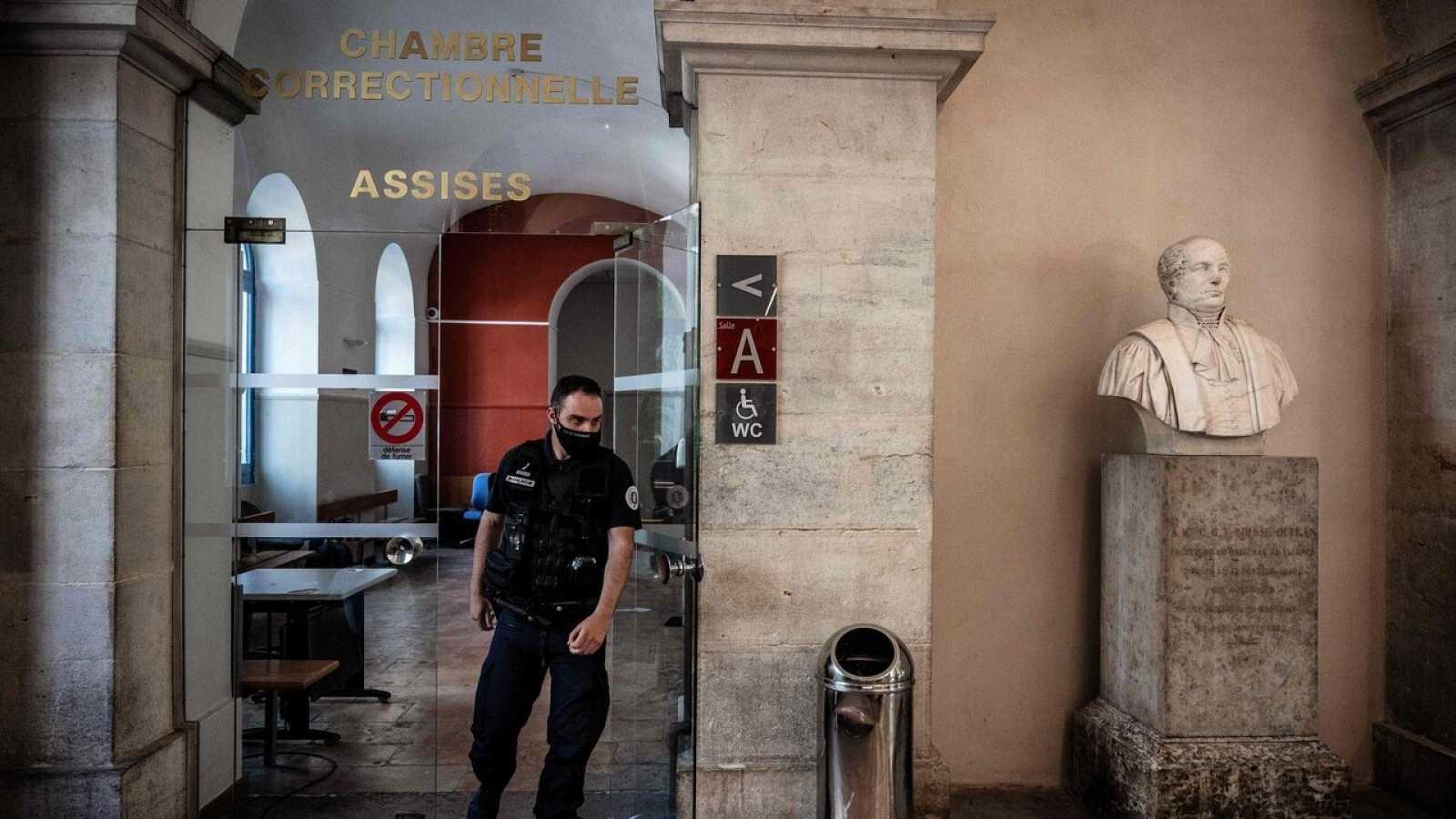 La corte de Valence donde ha sido juzgado Damien Tarel