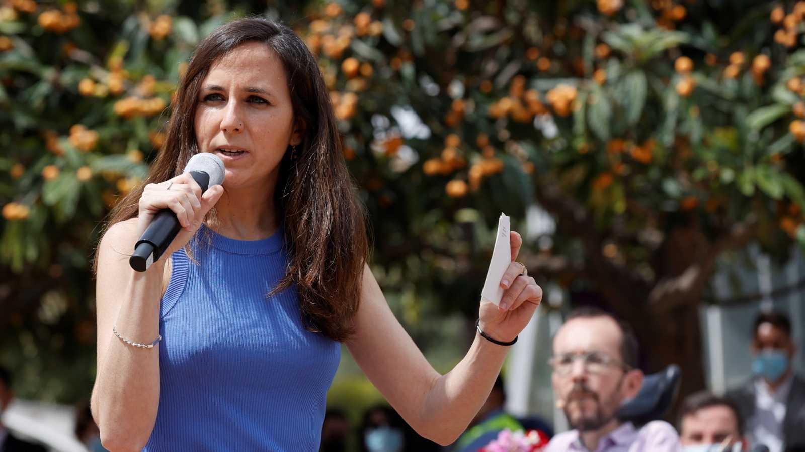Ione Belarra, candidata a secretaria general de Podemos