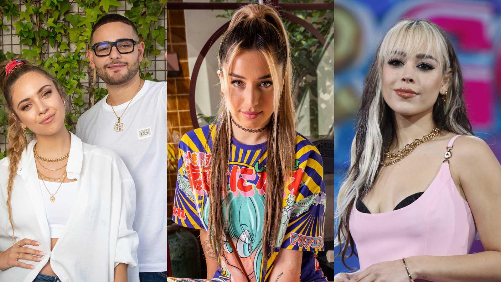 Ana Mena, Lola Indigo y Danna Paola, entre las novedades