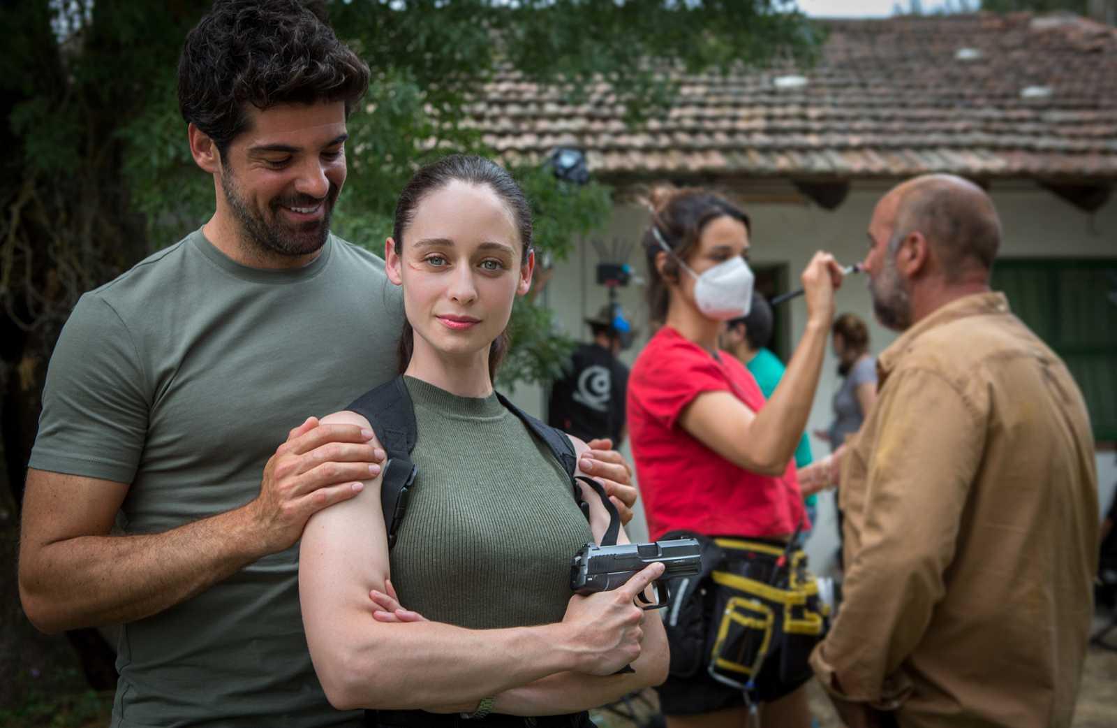 Miguel Ángel Muñoz y Elena Rivera