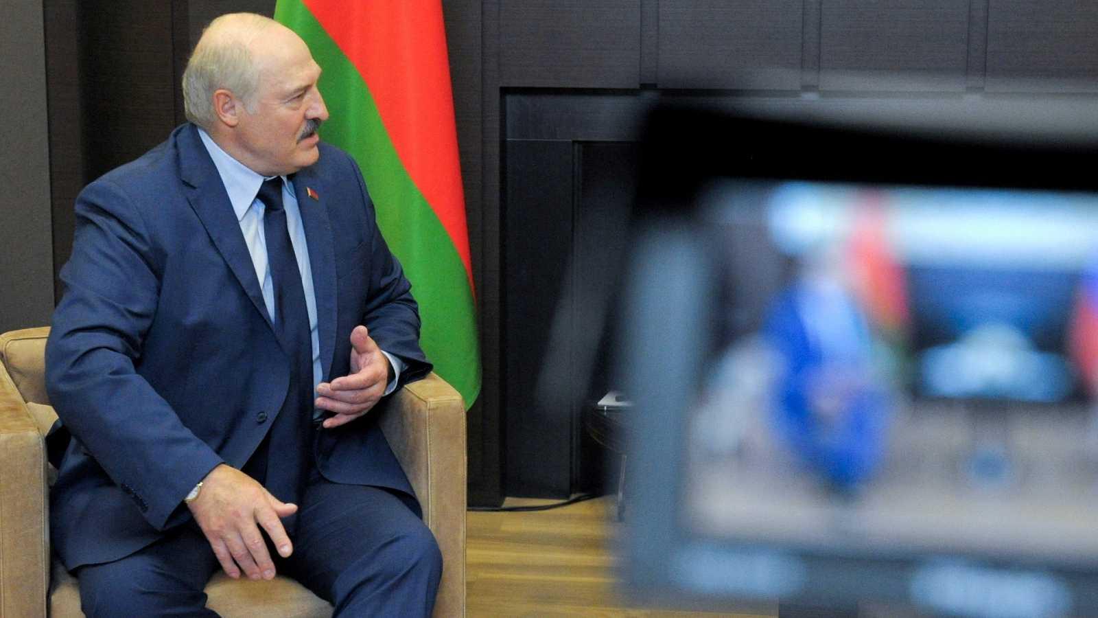 El presidente bielorruso, Alexandr Lukashenko, en una imagen de archivo.