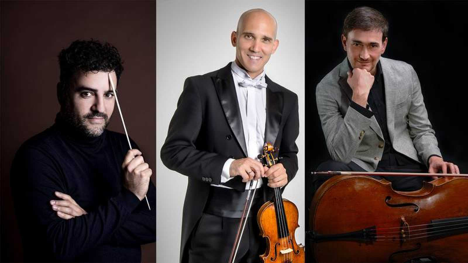 Javier Ulises Illán, Miguel Borrego y Javier Albarés