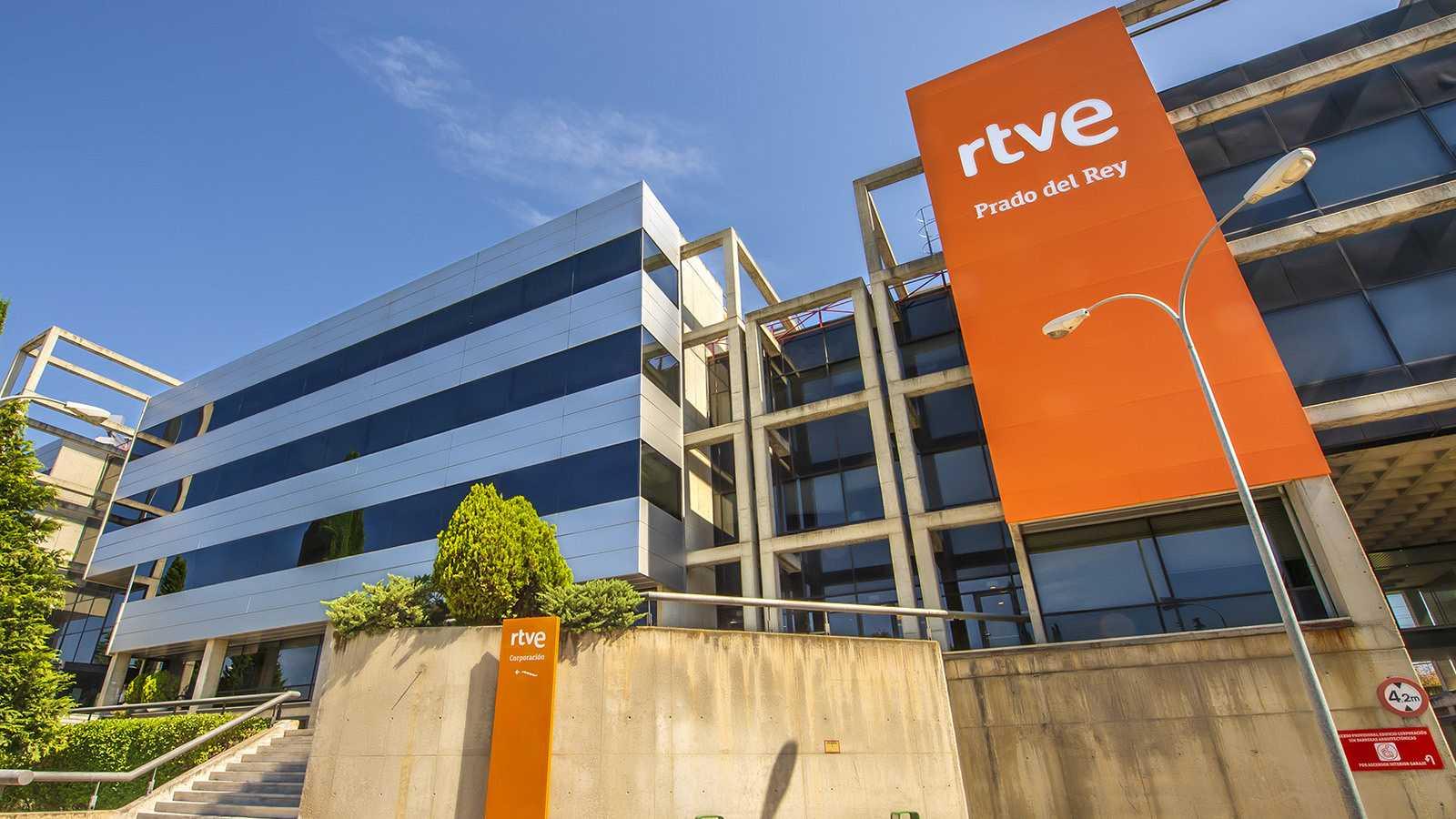Sede de RTVE, en Prado del Rey