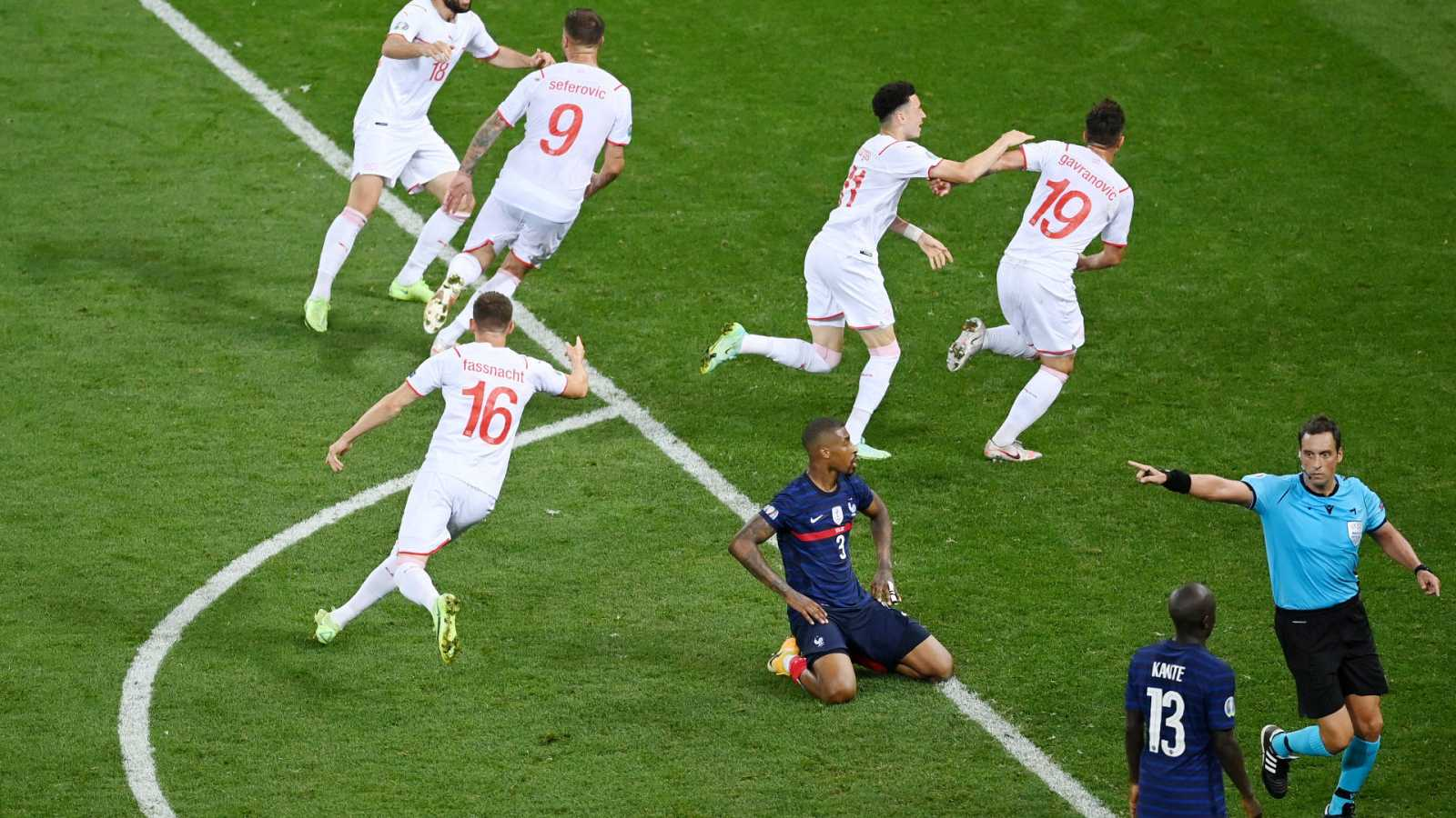 Crónica del Francia - Suiza de octavos de la Eurocopa