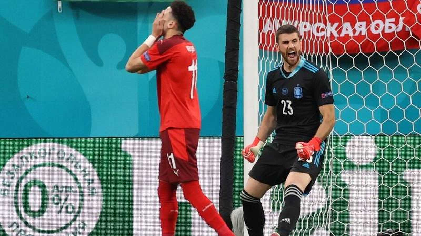 España pasa por penaltis y se enfrentará a Italia. Dinamarca e Inglaterra, los otros semifinalistas